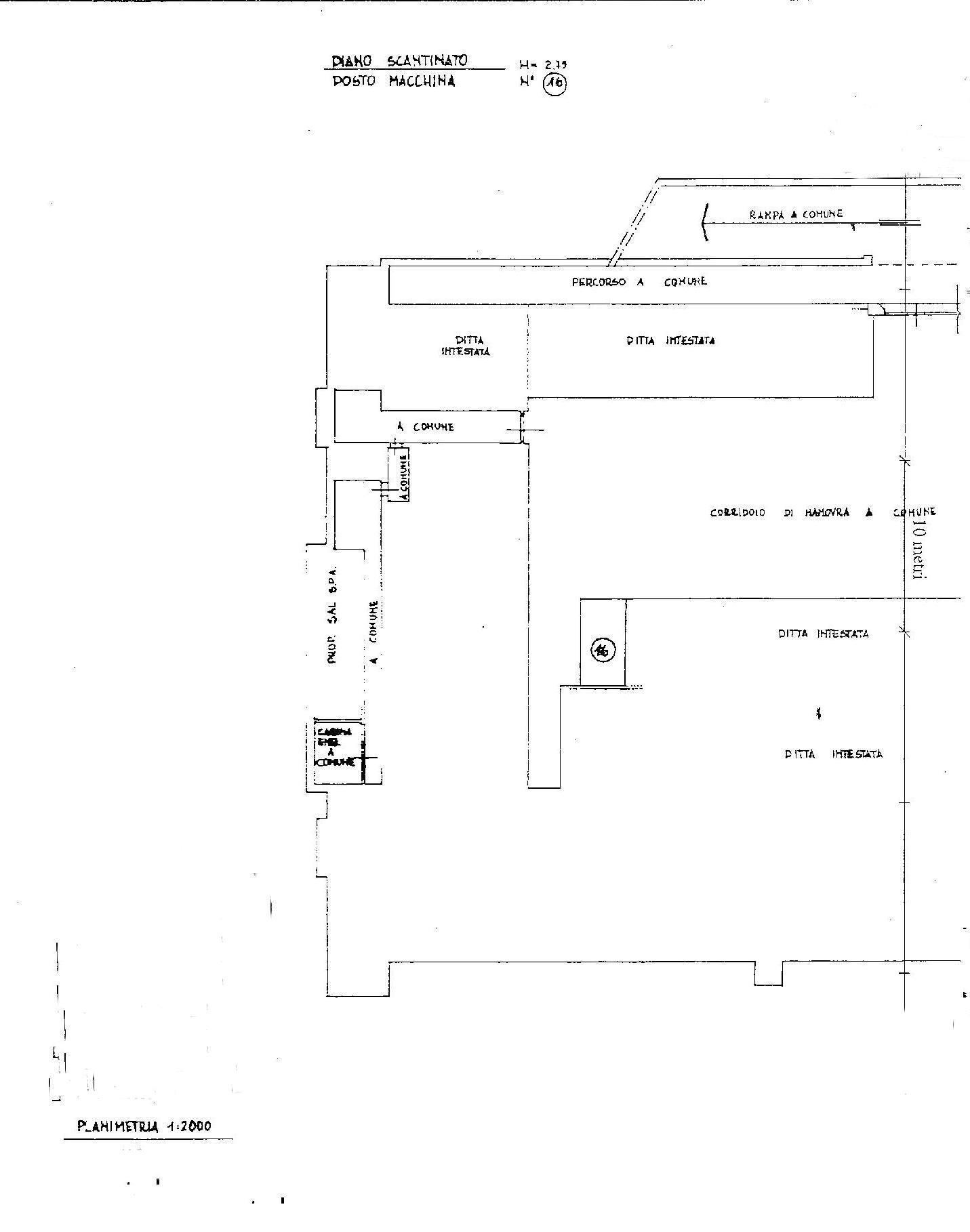 Planimetria 3/3 per rif. E004P