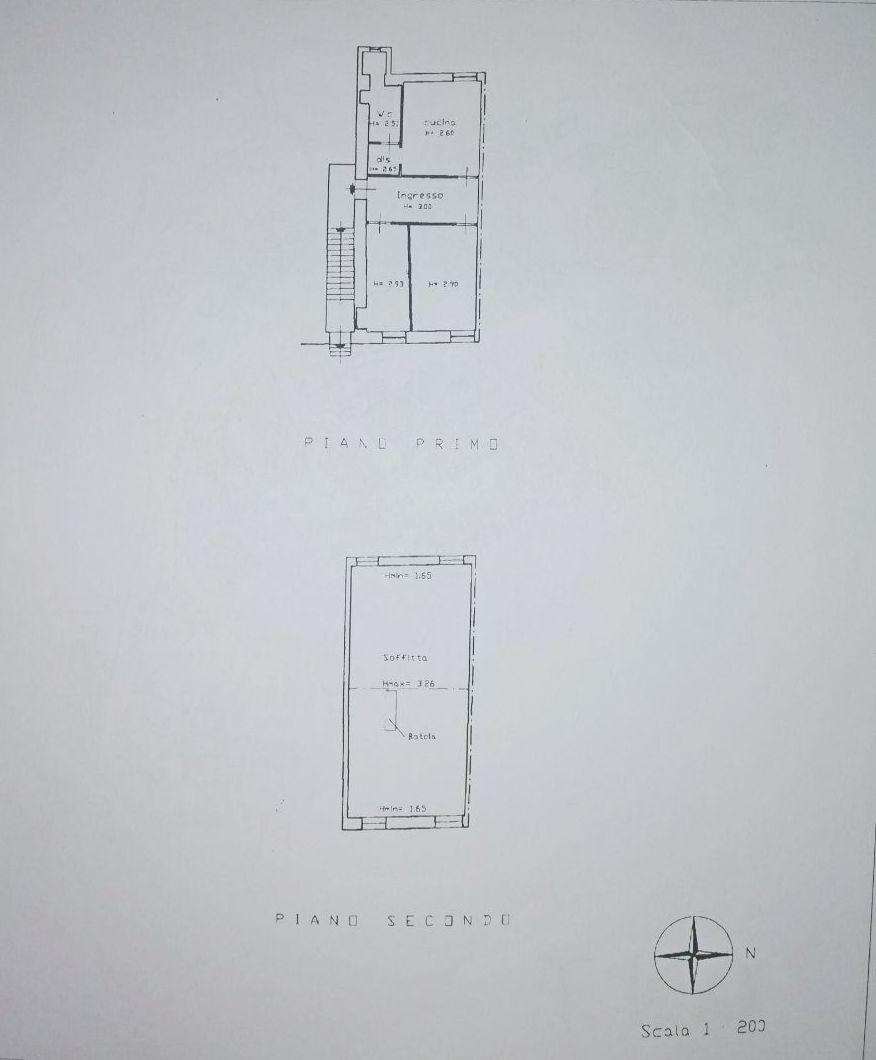 Planimetria 1/1 per rif. E005A
