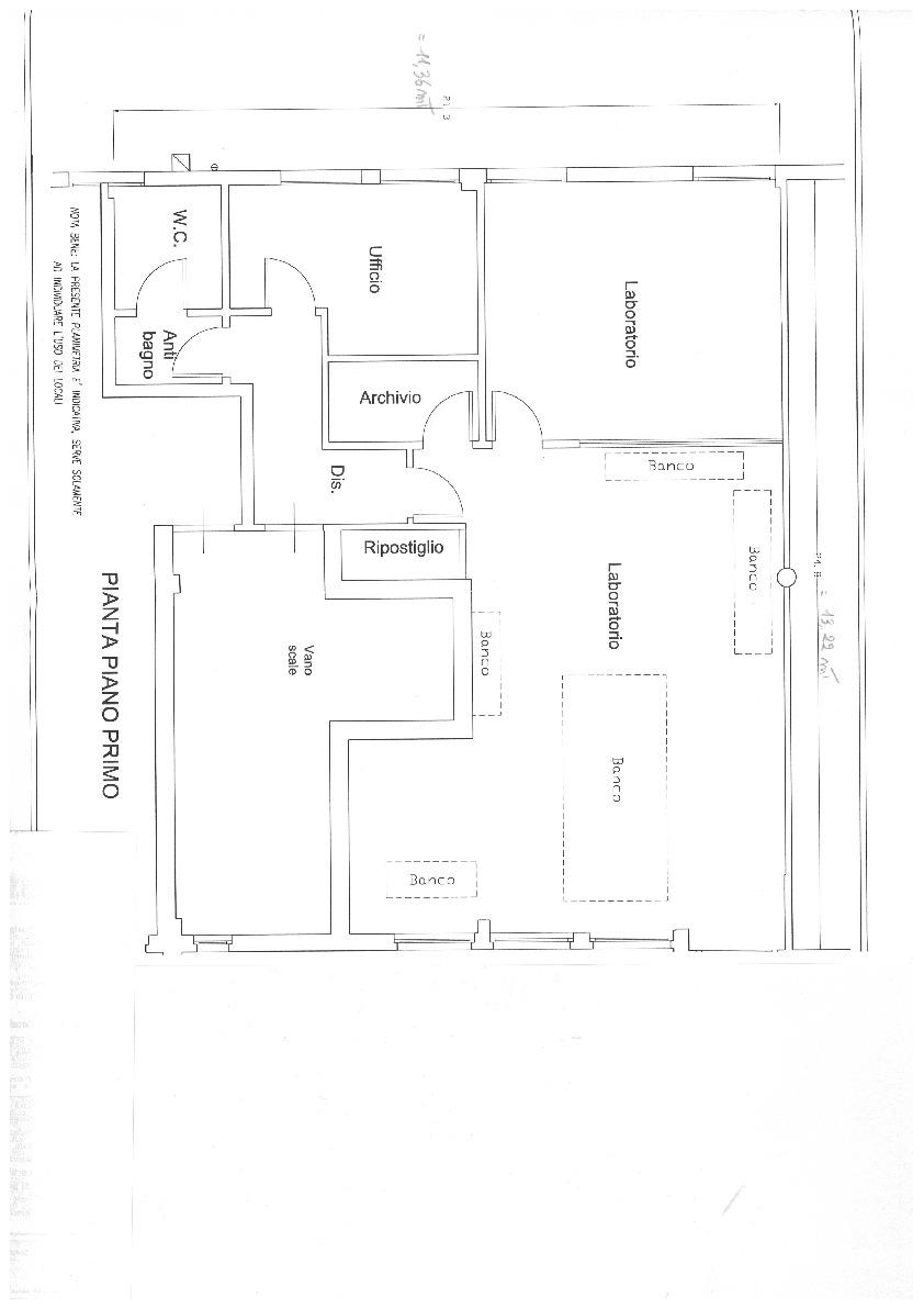 Planimetria 1/1 per rif. EF005M