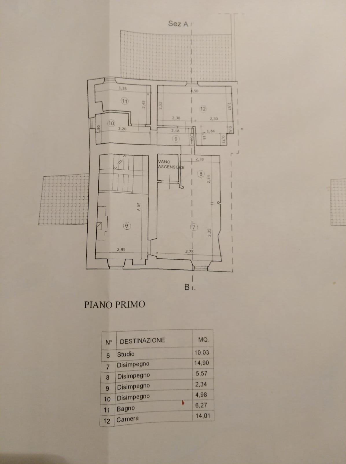 Planimetria 2/4 per rif. N078SU