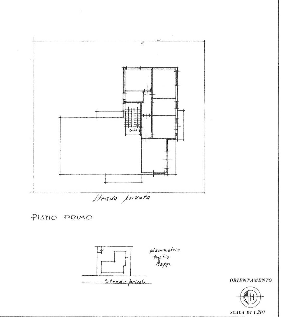 Planimetria 1/1 per rif. F014M