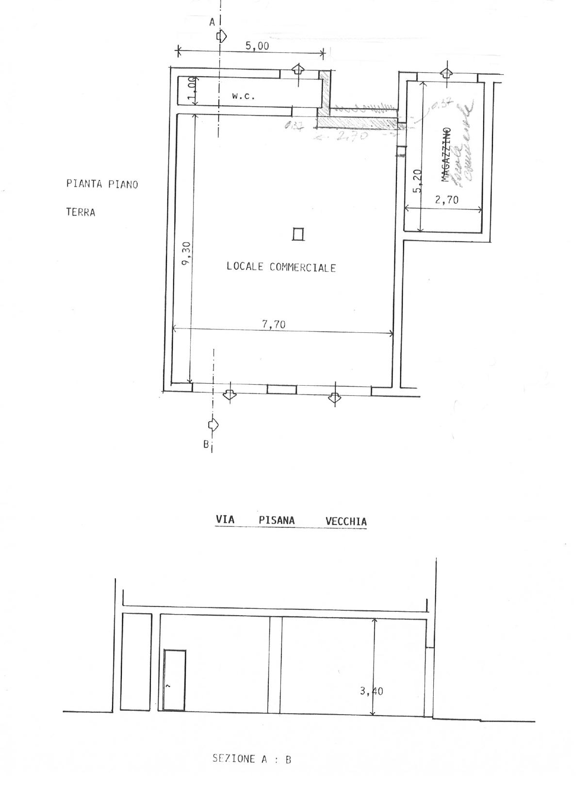 Planimetria 1/1 per rif. EF11P