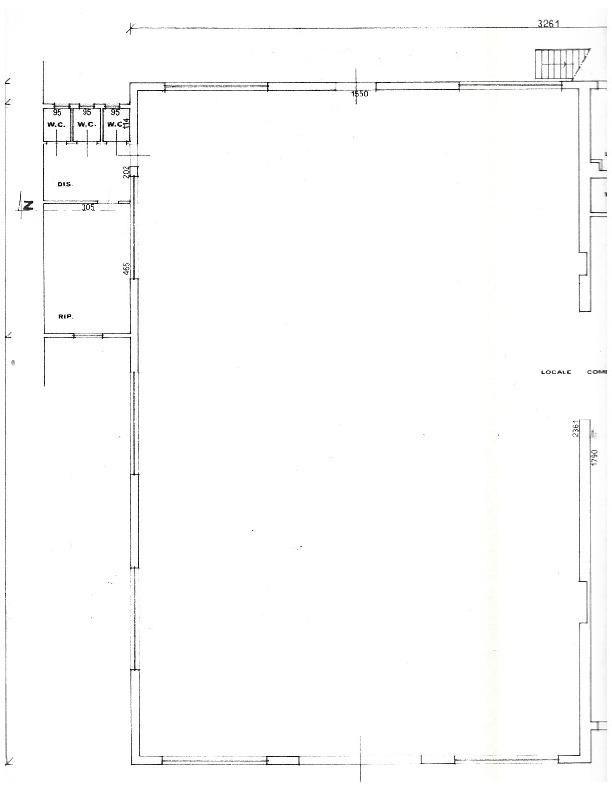 Planimetria 1/1 per rif. F004R