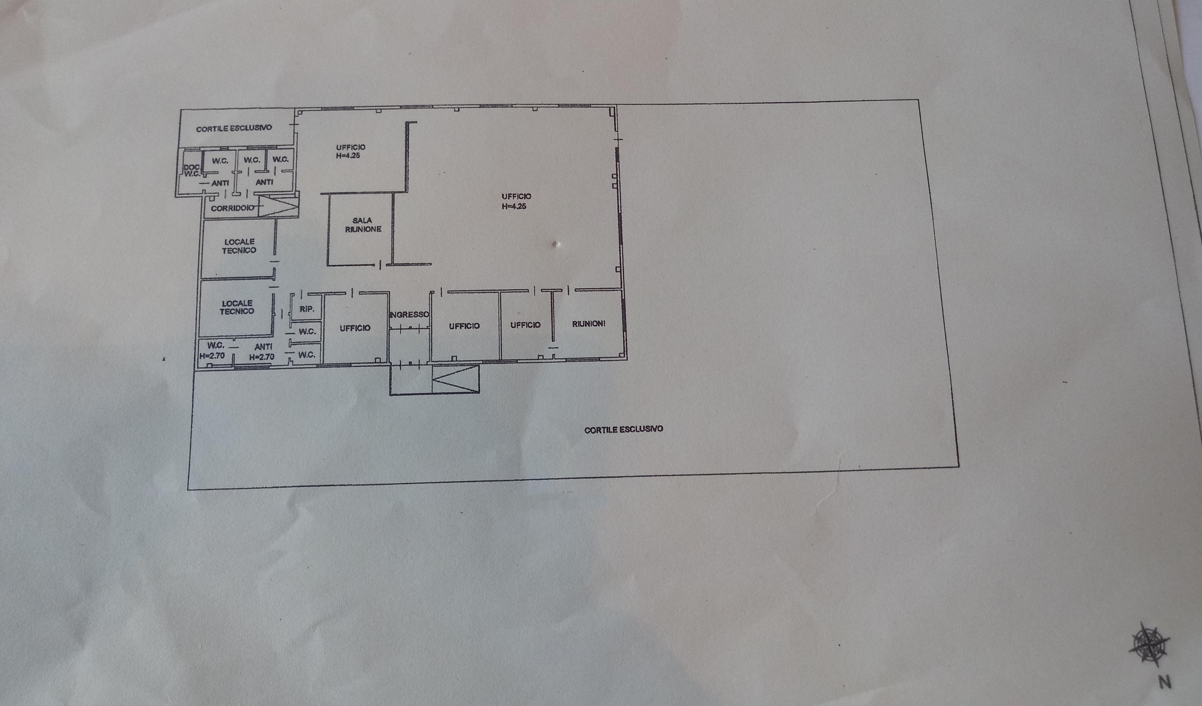 Planimetria 1/1 per rif. F043S