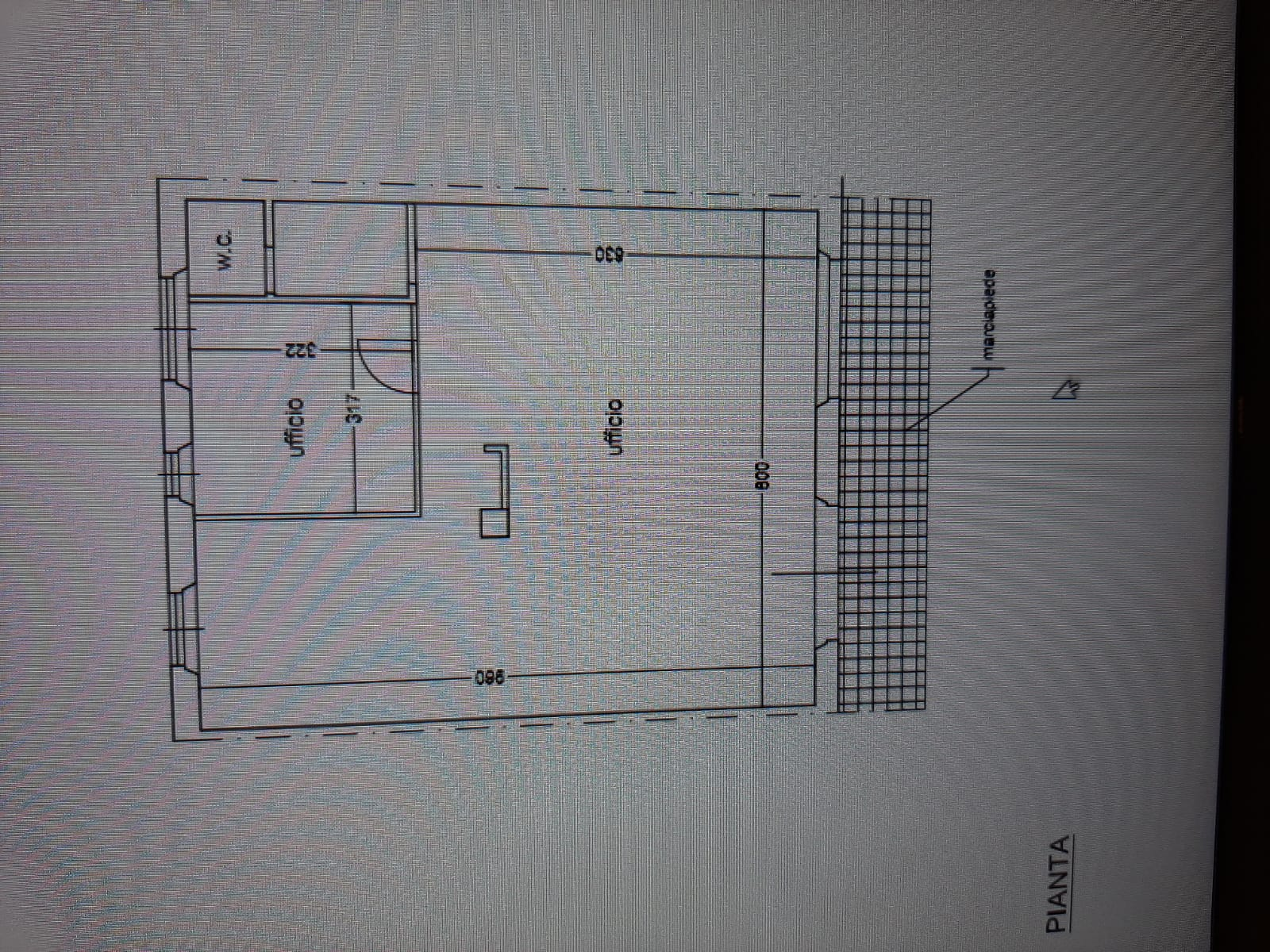 Planimetria 1/1 per rif. F009D