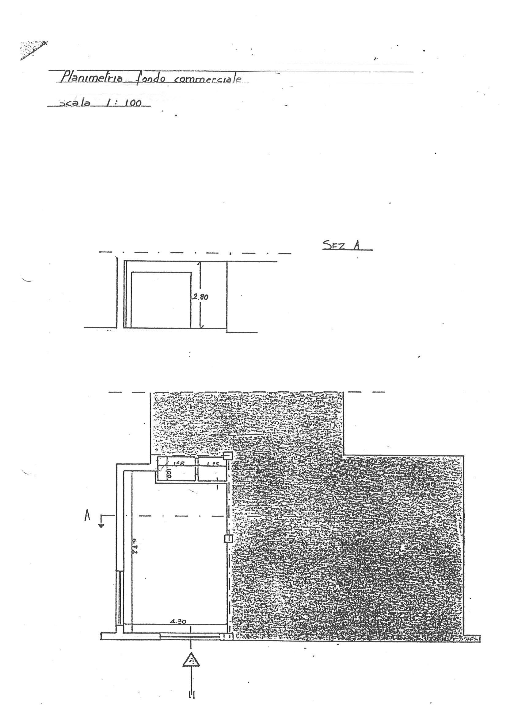 Planimetria 1/1 per rif. EF007R