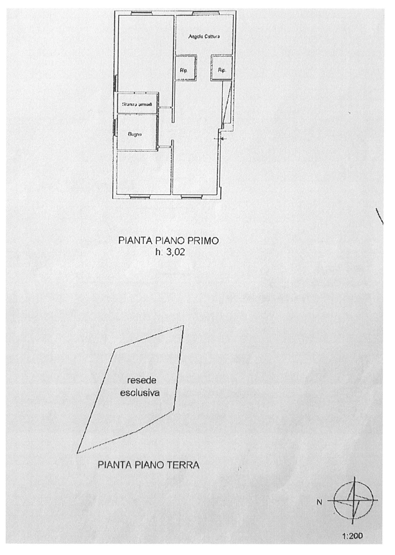 Planimetria 1/1 per rif. E007A
