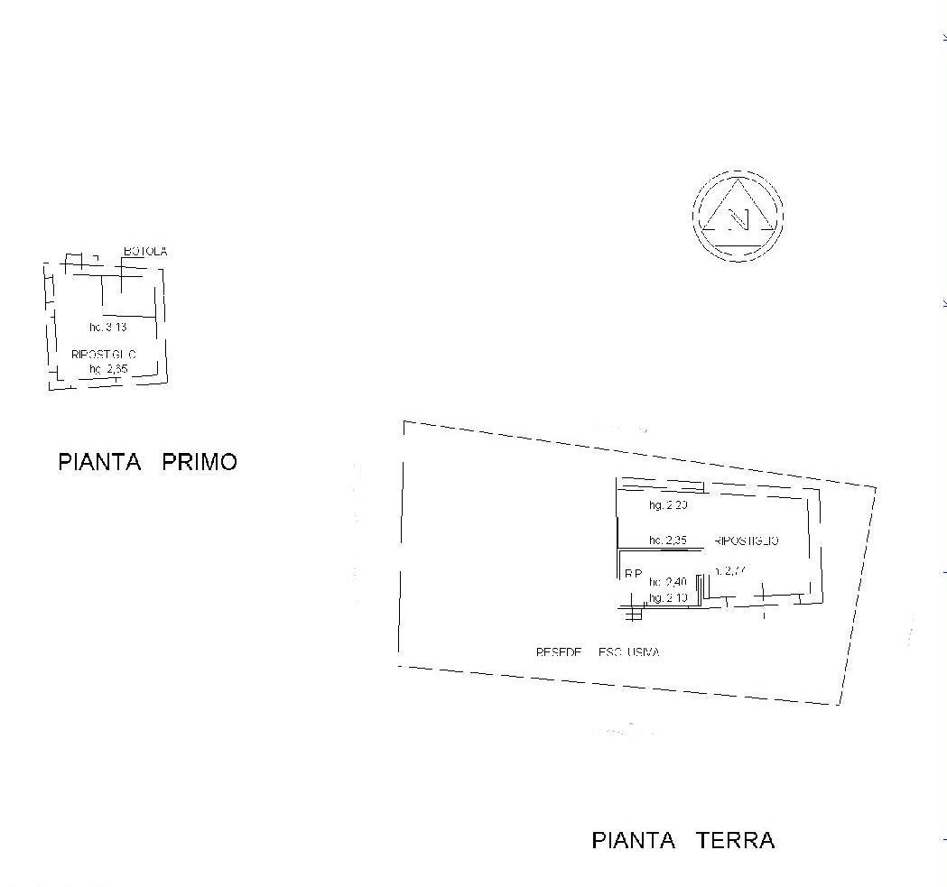 Planimetria 2/2 per rif. E003J