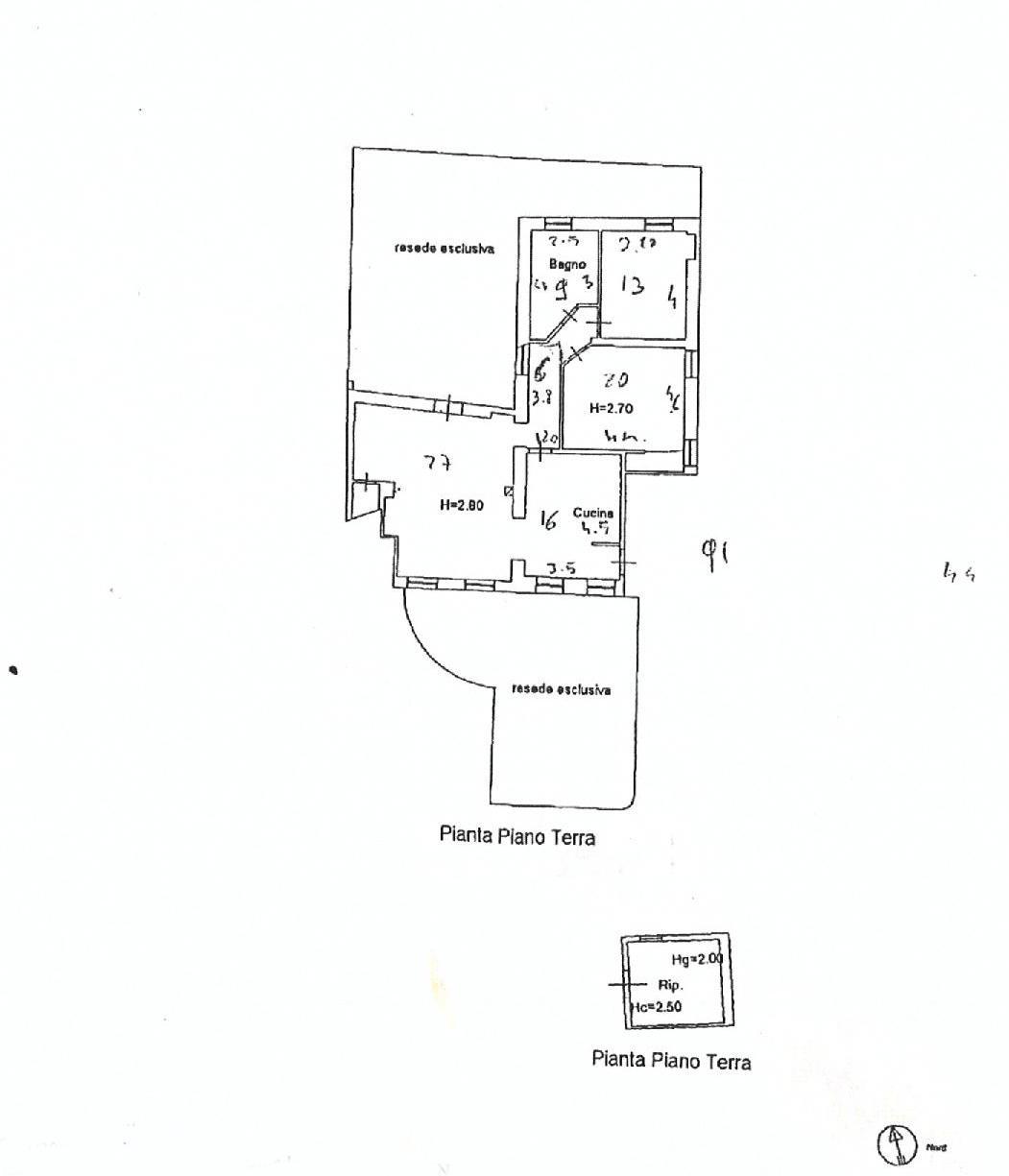 Planimetria 1/1 per rif. E017P