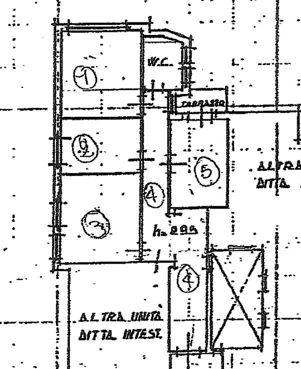 Planimetria 1/1 per rif. F008R