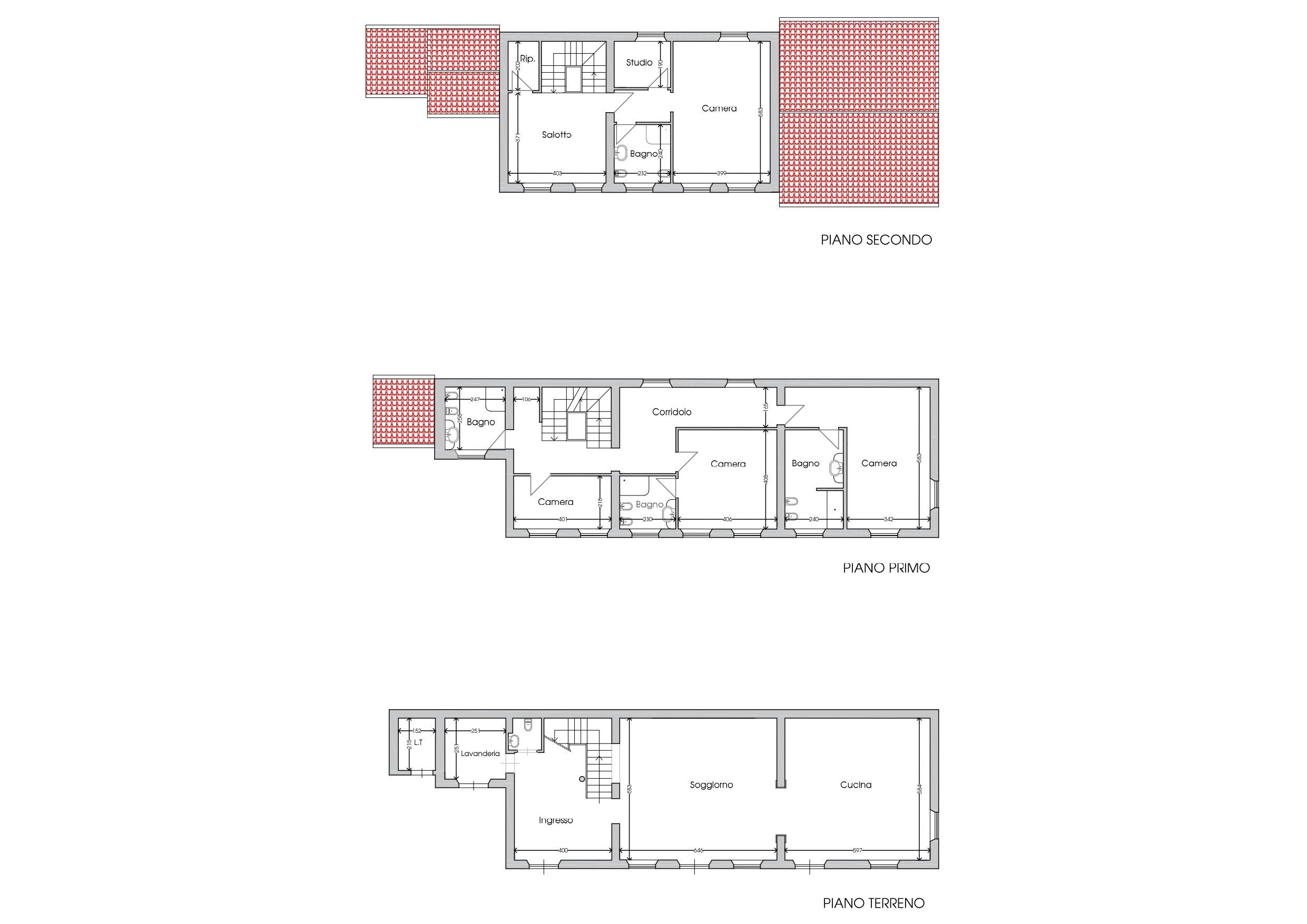 Planimetria 1/1 per rif. E061J