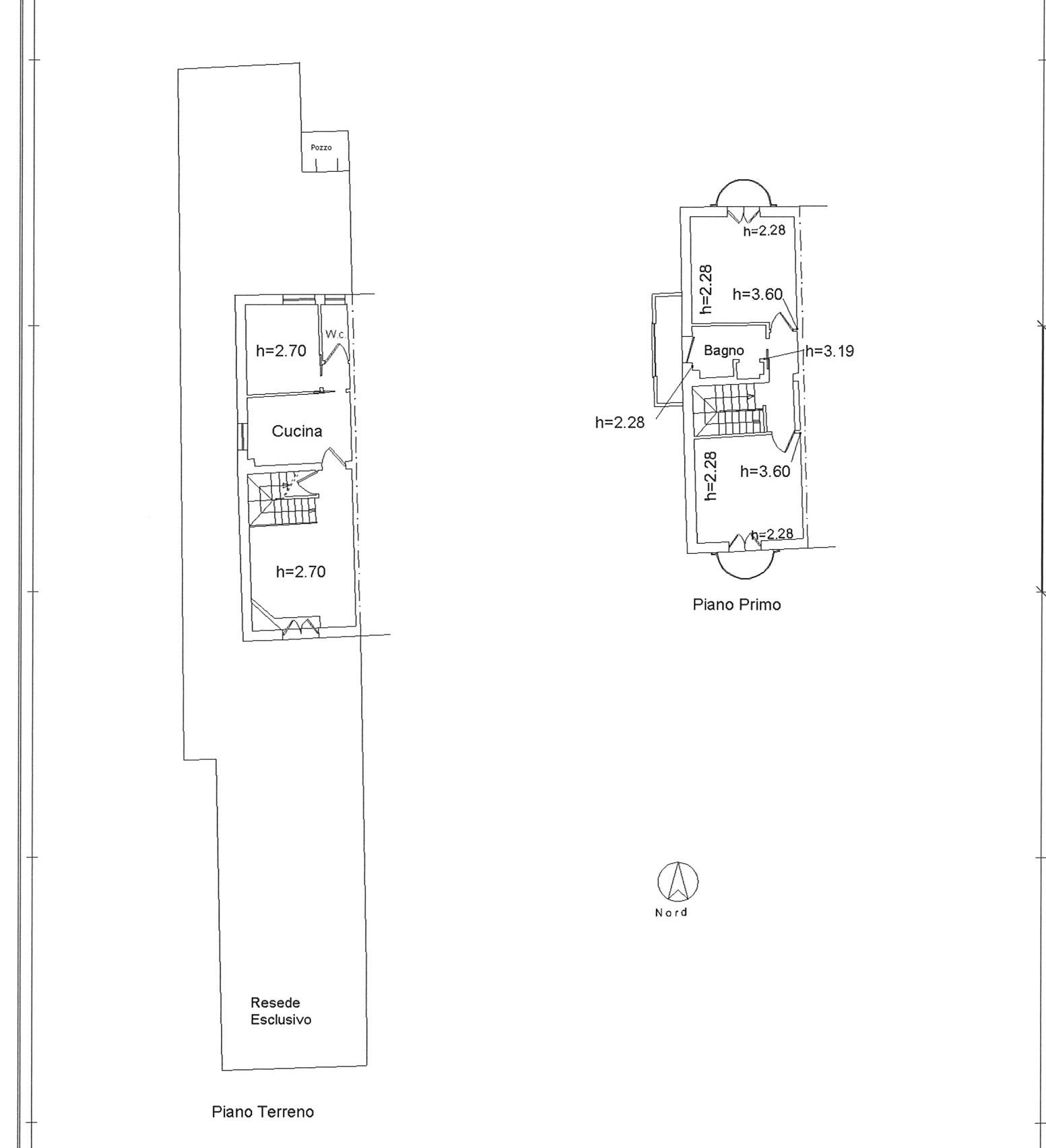 Planimetria 1/1 per rif. E018P
