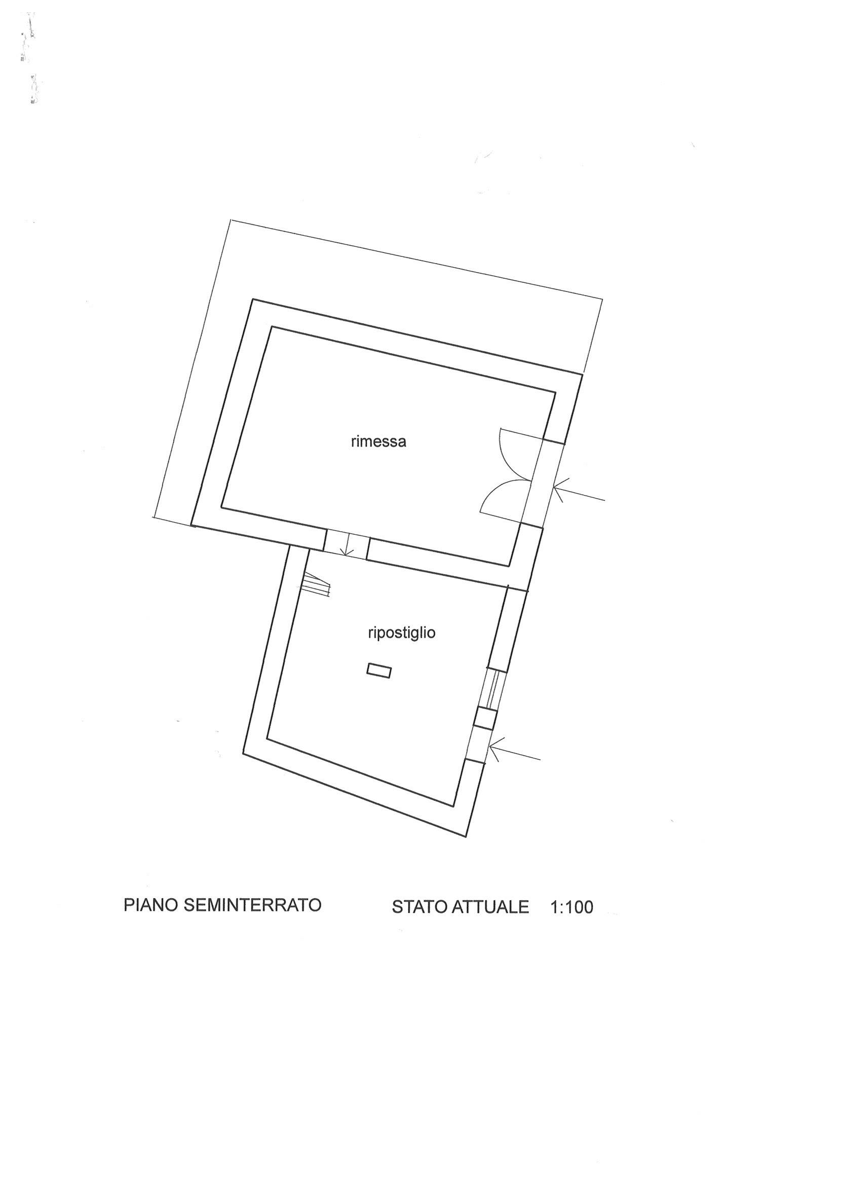 Planimetria 1/3 per rif. E096J