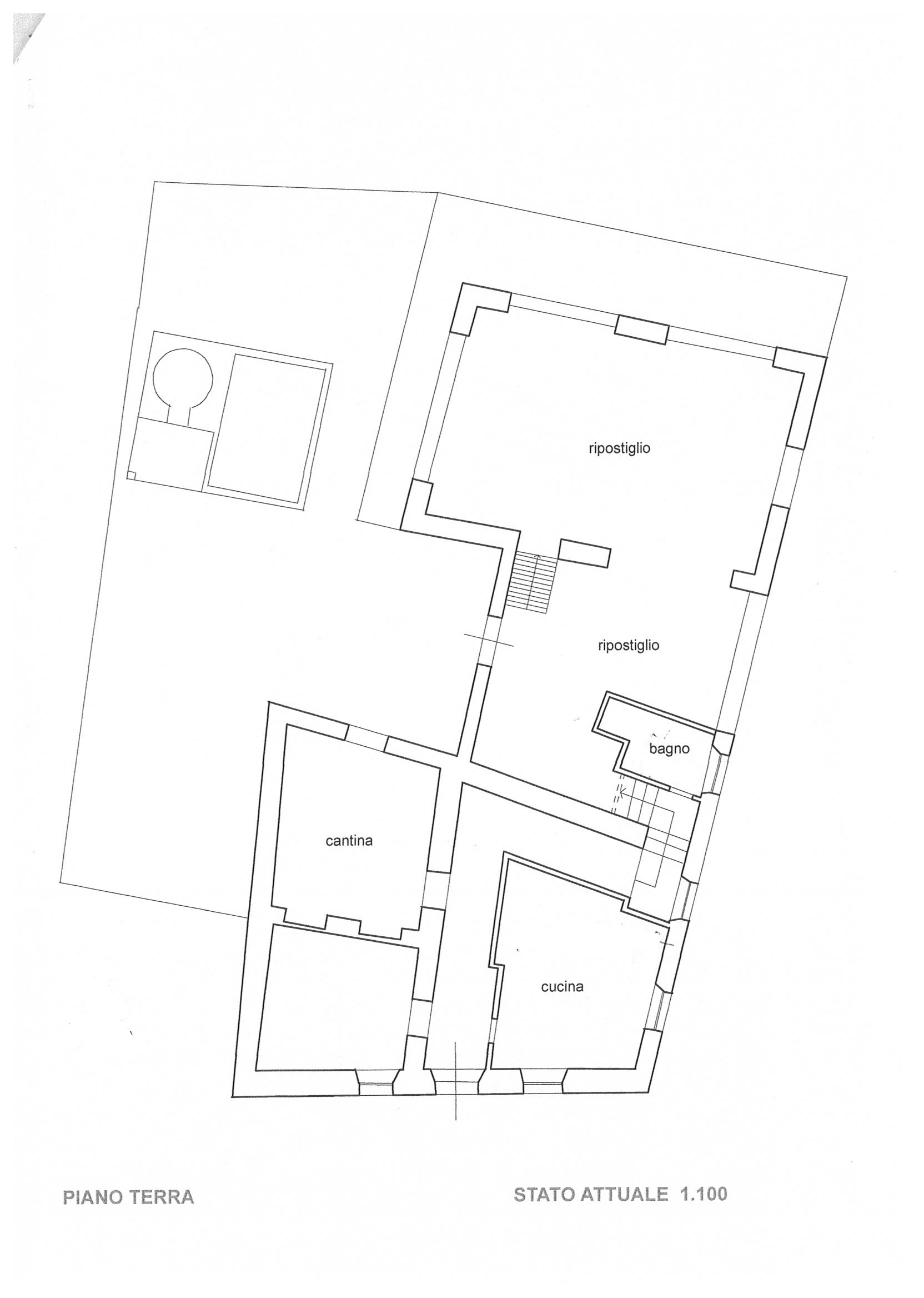 Planimetria 2/3 per rif. E096J