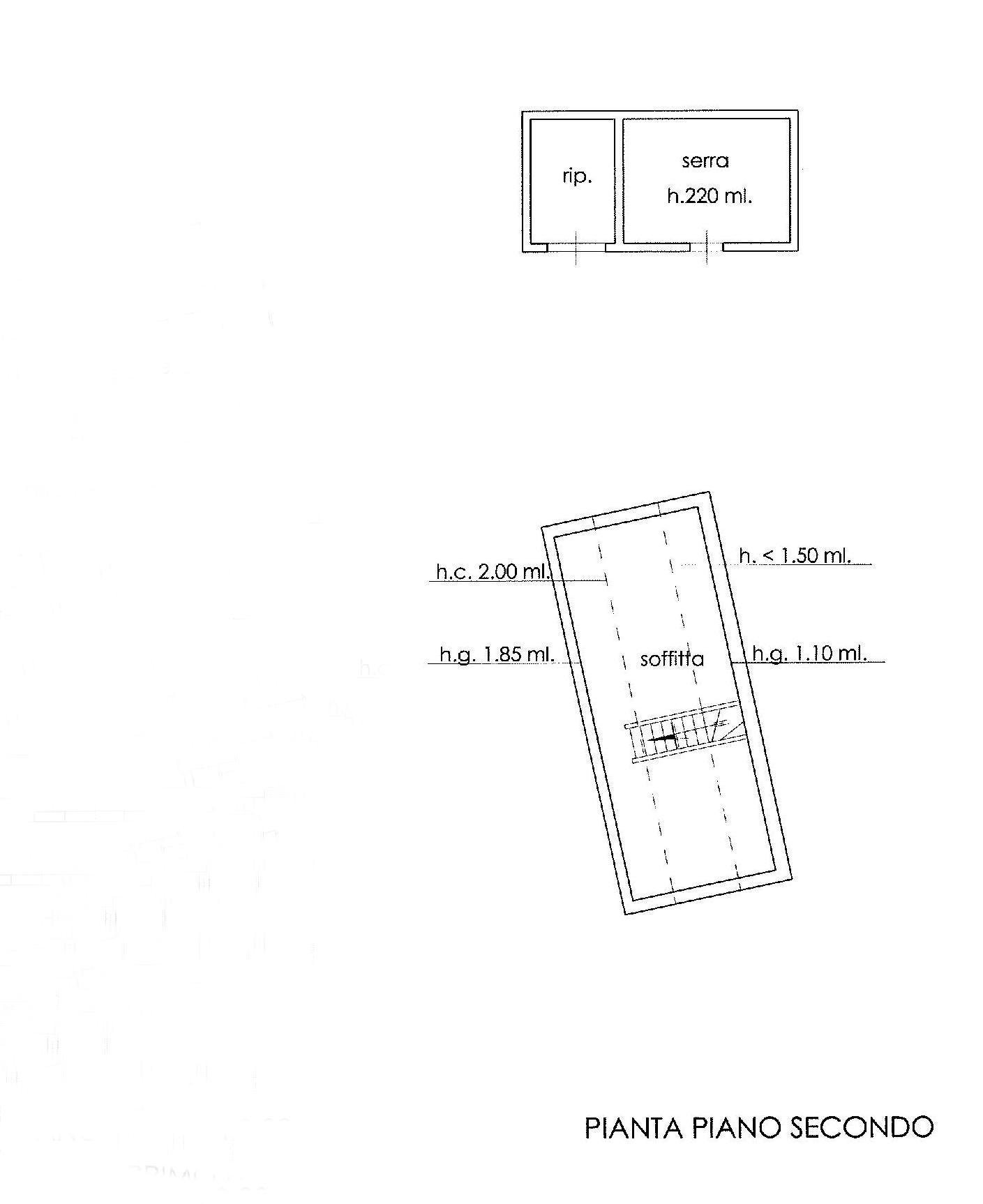 Planimetria 3/3 per rif. E001H