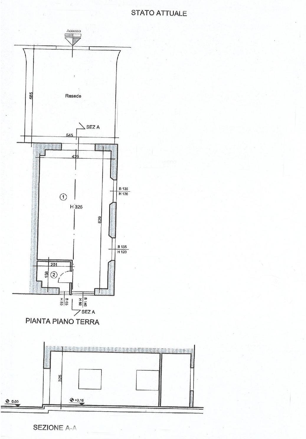Planimetria 1/1 per rif. F022P