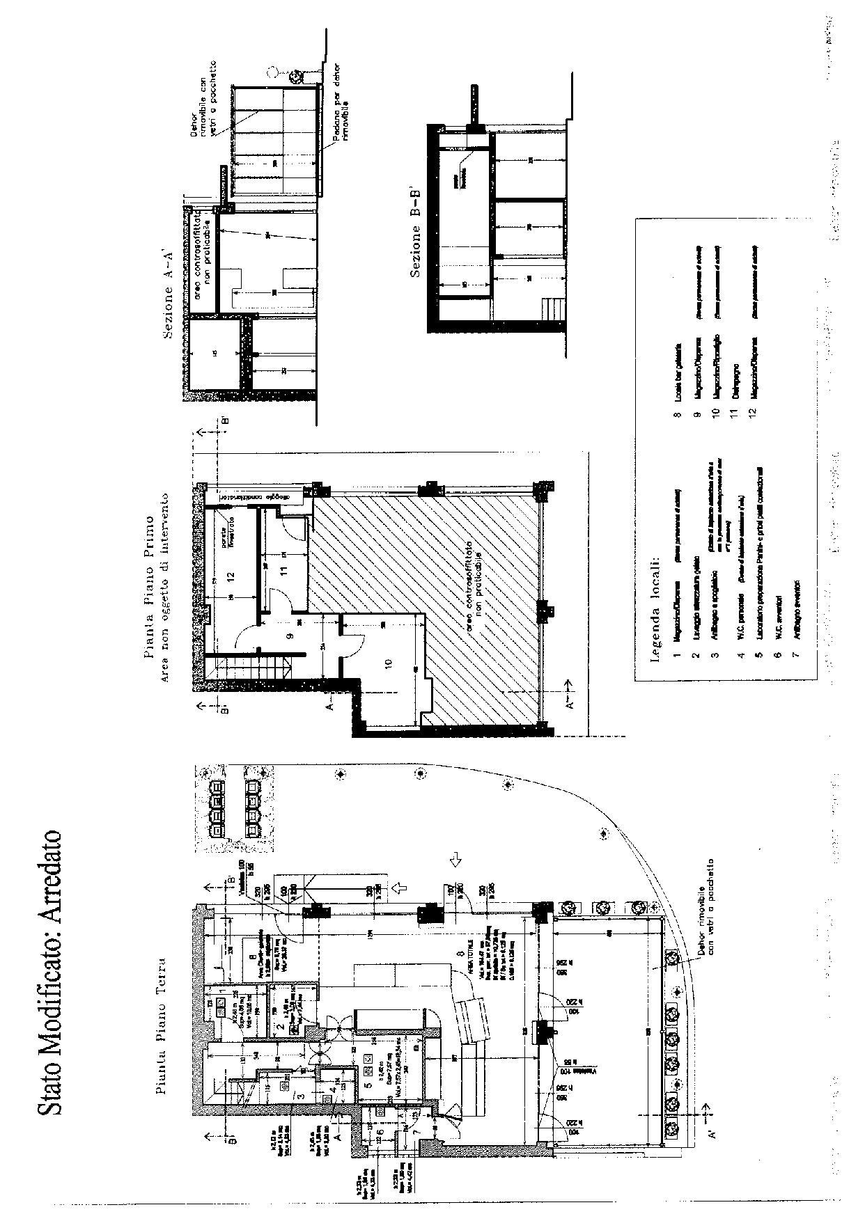Planimetria 2/2 per rif. F054S
