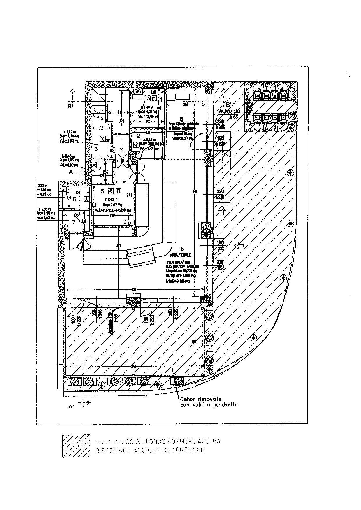 Planimetria 1/2 per rif. F054S