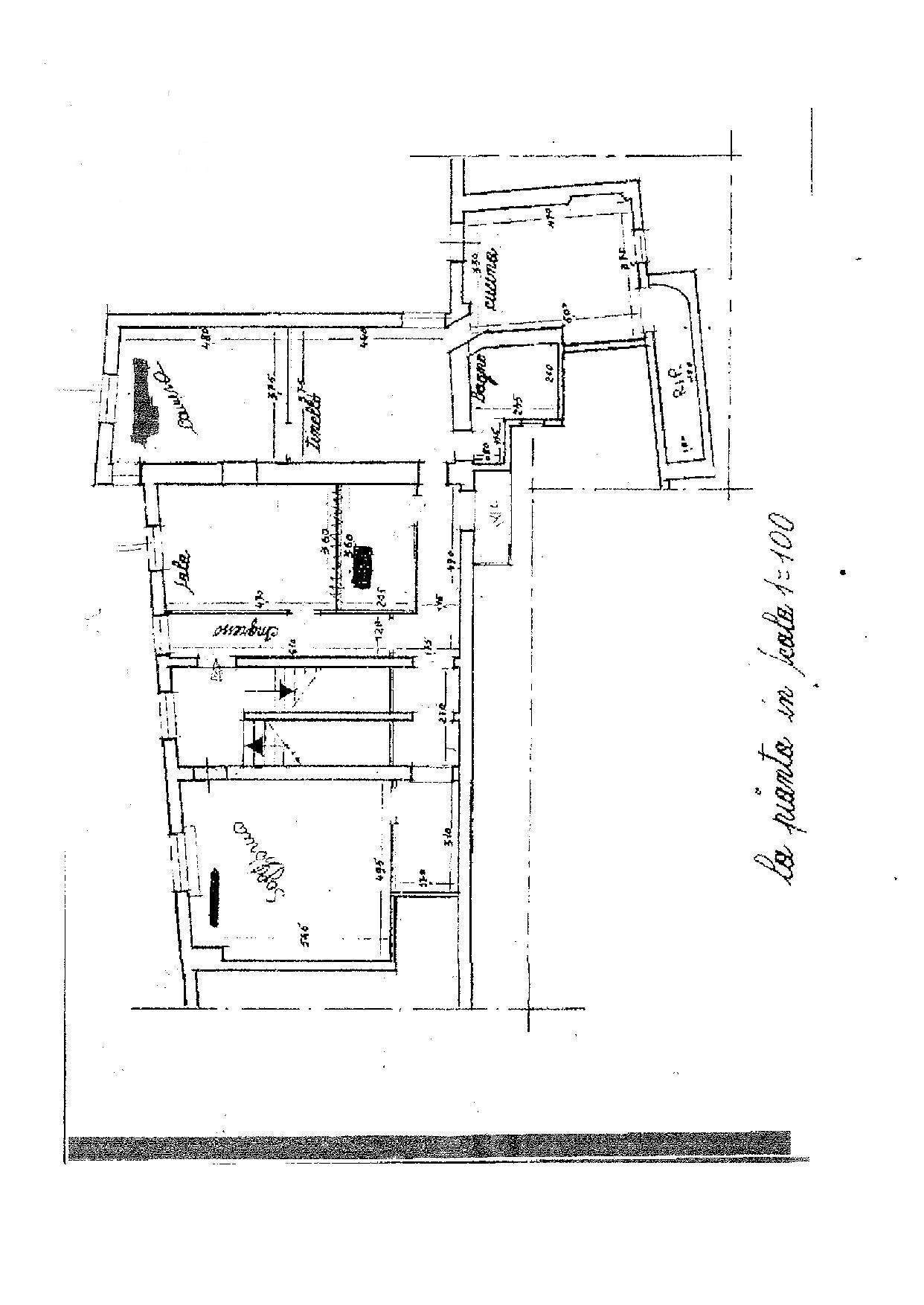 Planimetria 1/1 per rif. E023P