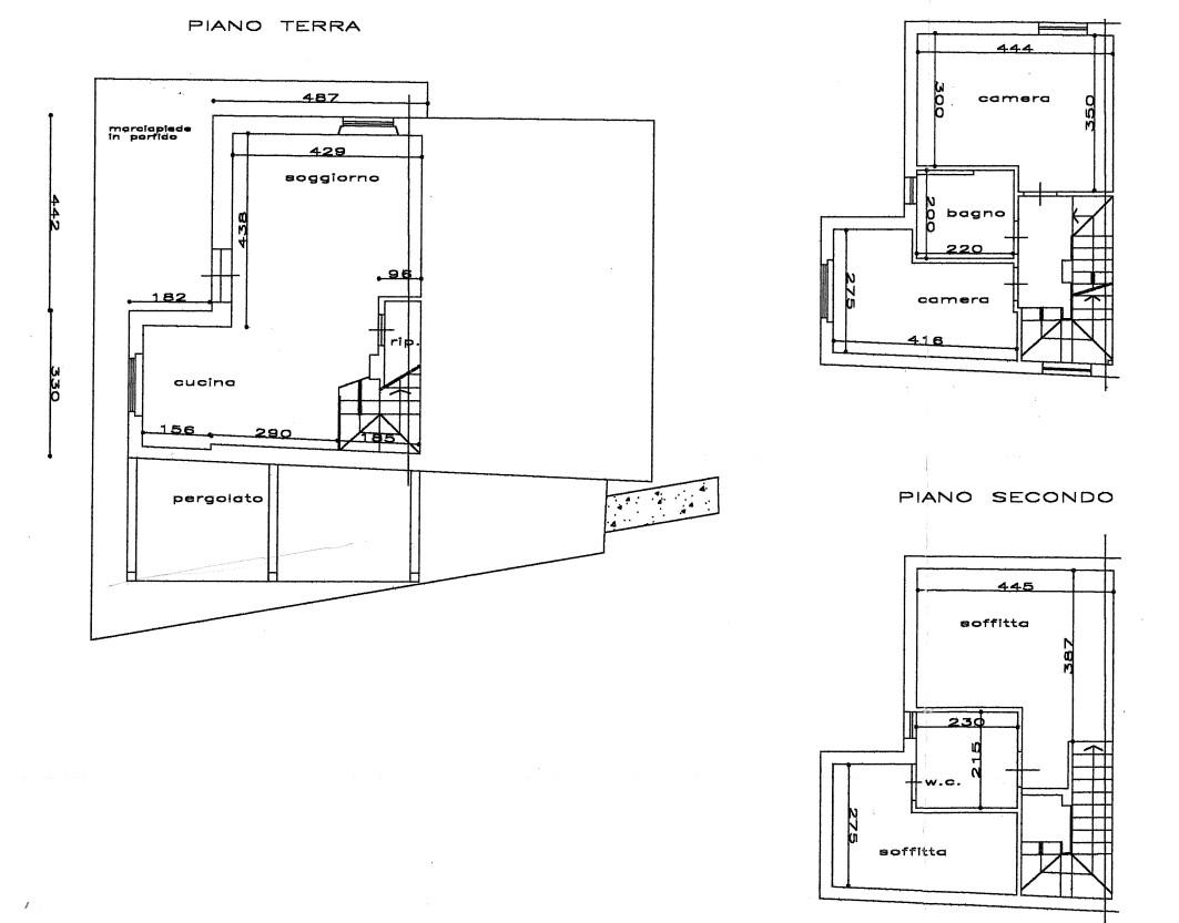 Planimetria 1/1 per rif. E009R