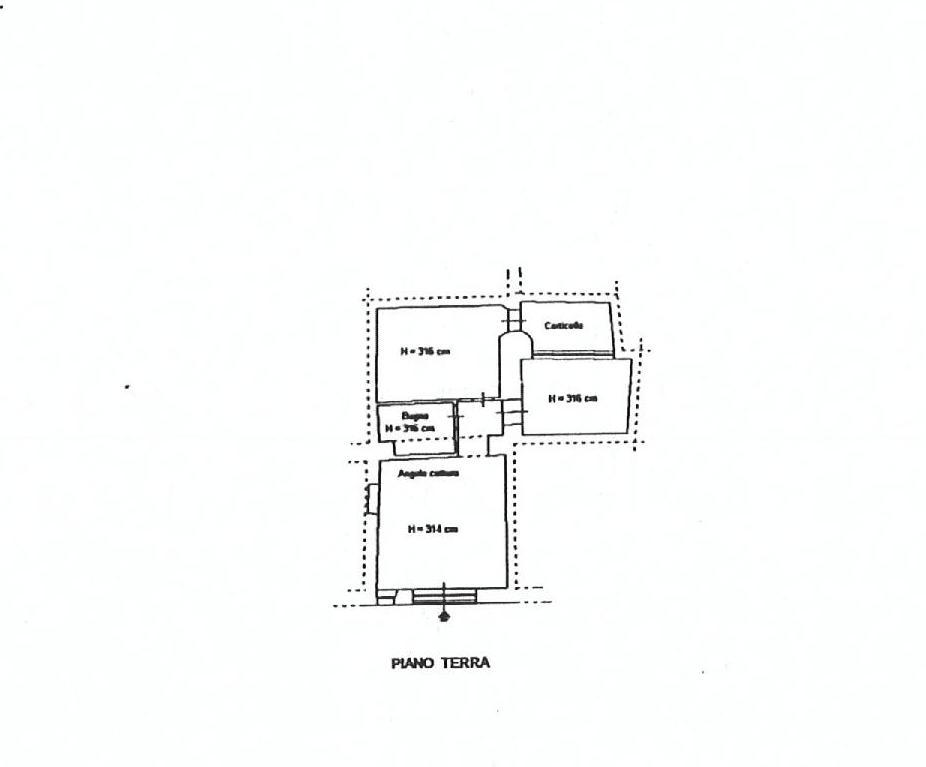 Planimetria 1/1 per rif. EF024P