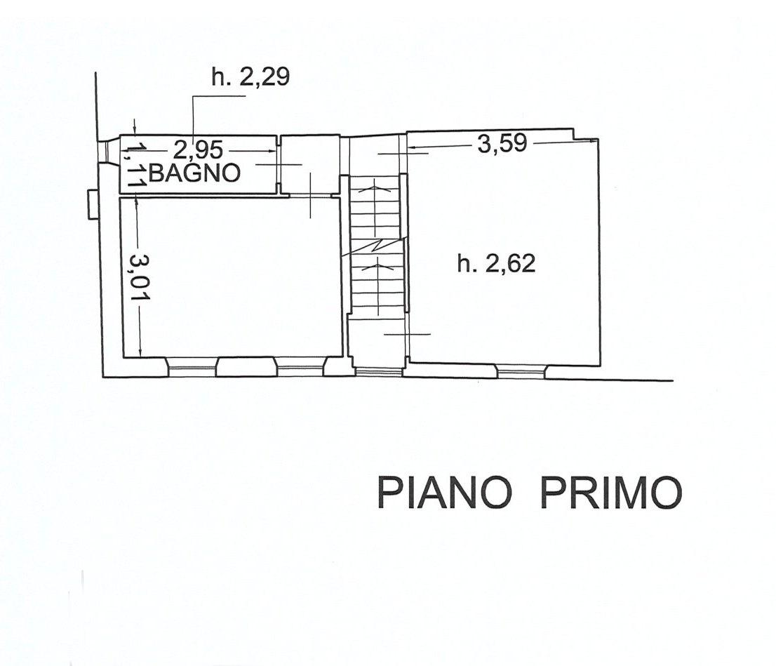 Planimetria 2/3 per rif. E078J