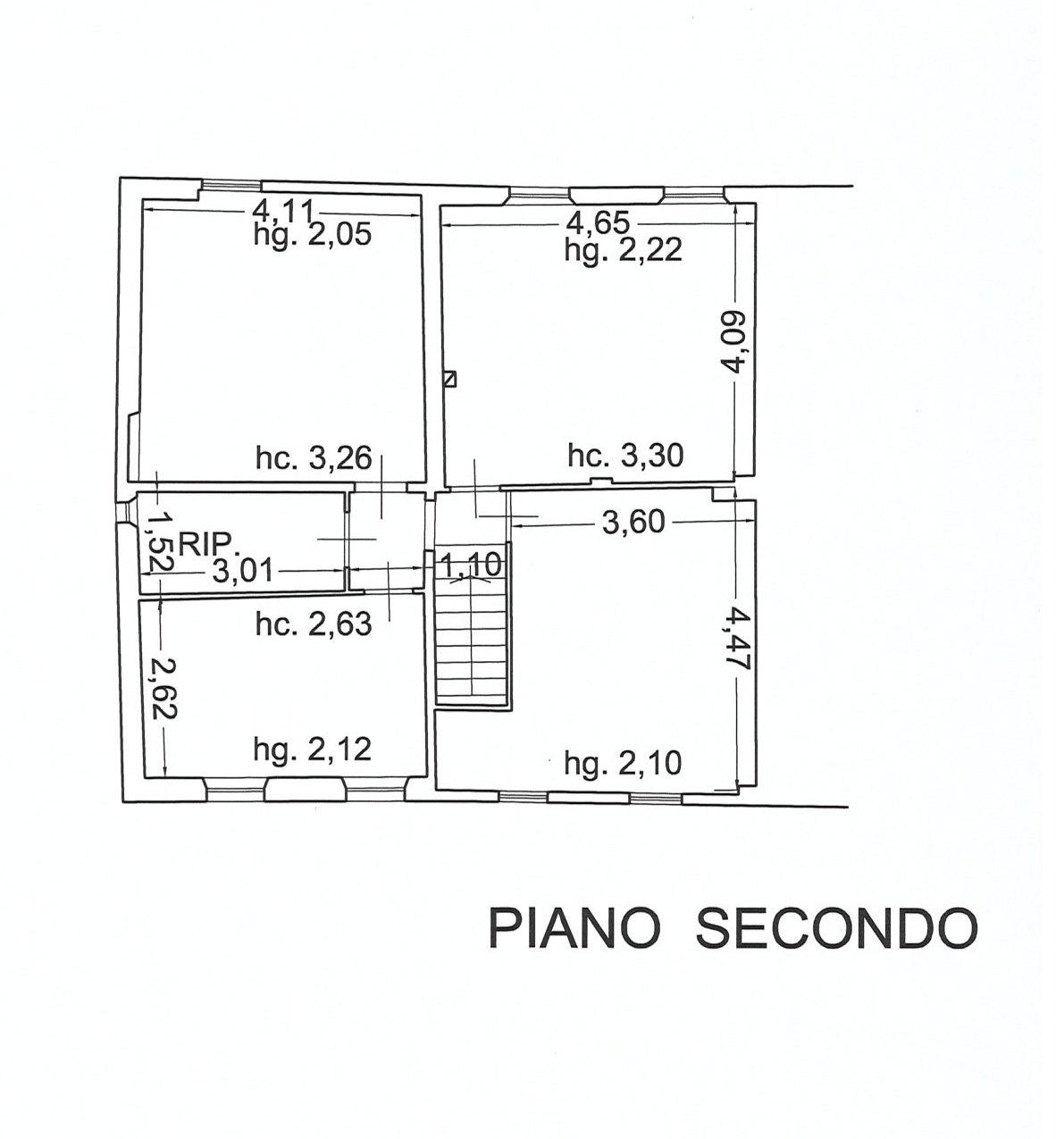 Planimetria 3/3 per rif. E078J