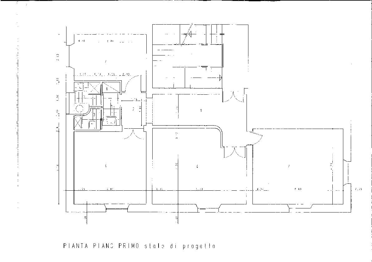 Planimetria 1/1 per rif. F007M