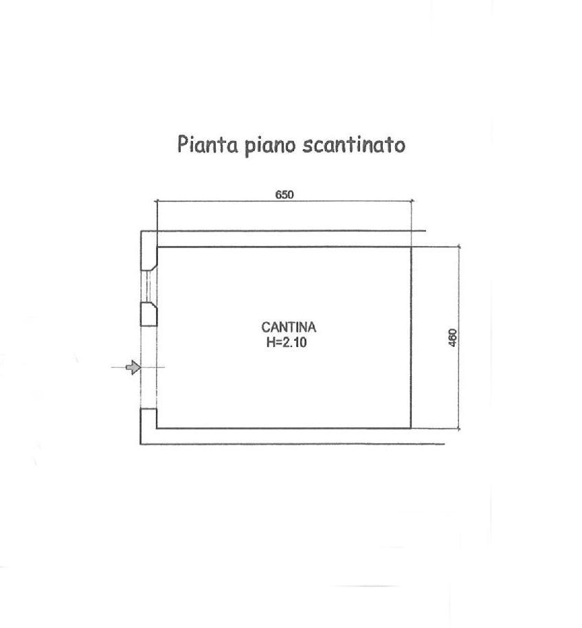 Planimetria 4/5 per rif. E024P