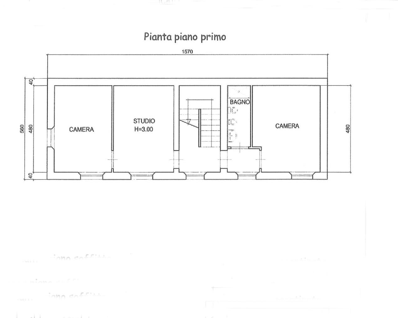 Planimetria 2/5 per rif. E024P