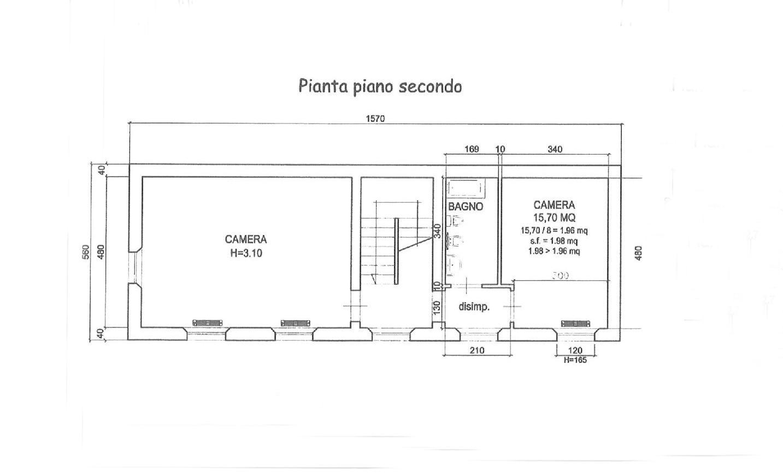 Planimetria 3/5 per rif. E024P