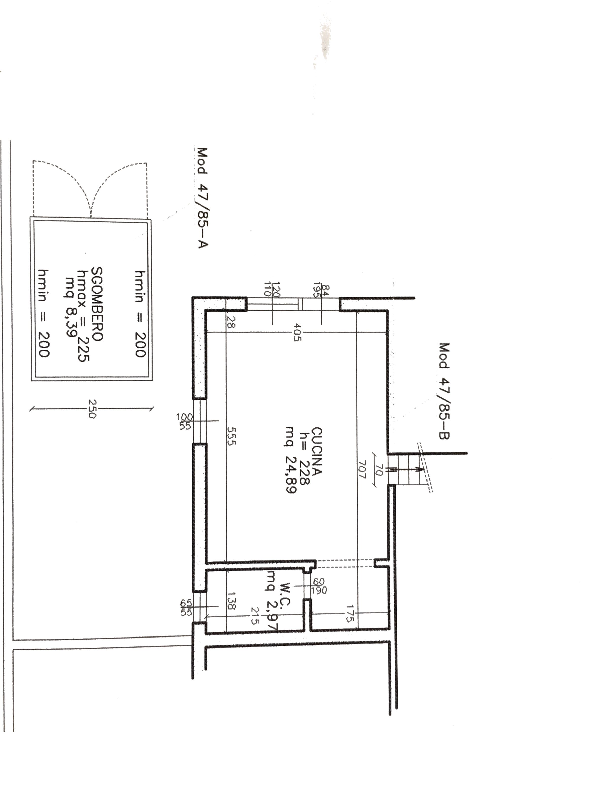 Planimetria 2/2 per rif. 456