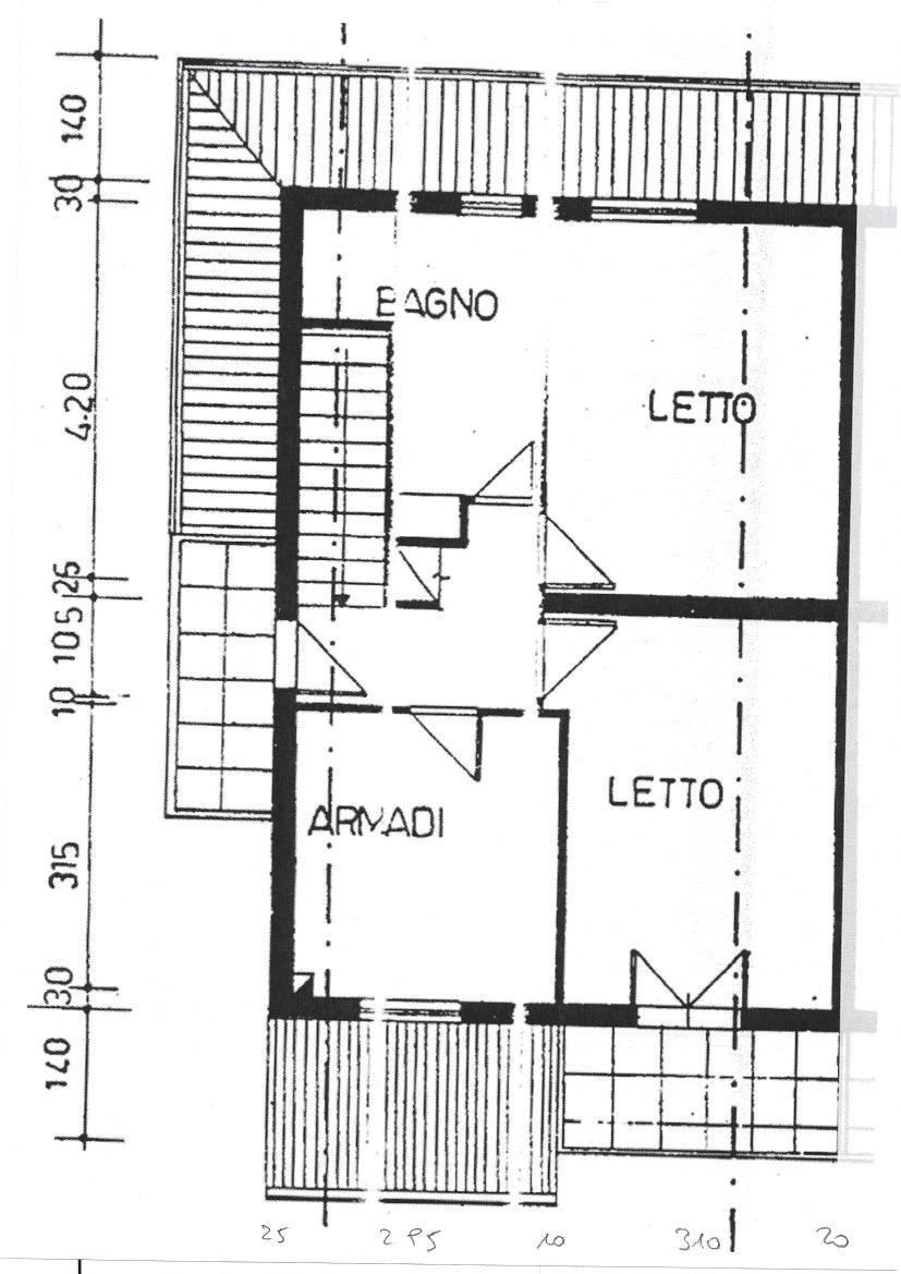 Planimetria 2/3 per rif. 565