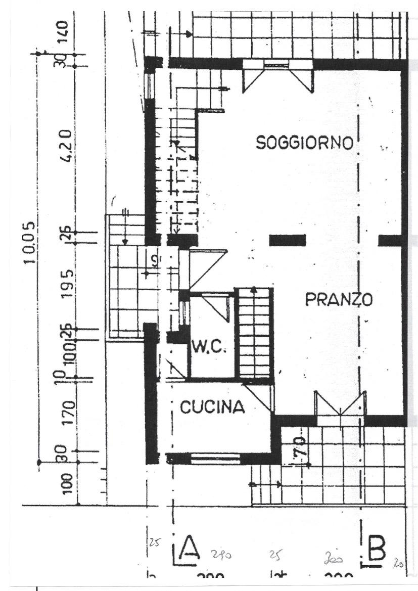 Planimetria 1/3 per rif. 565