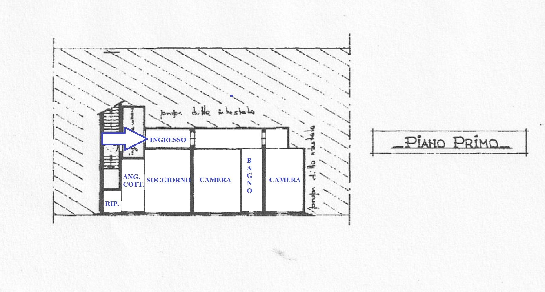 Planimetria 1/1 per rif. 408/B