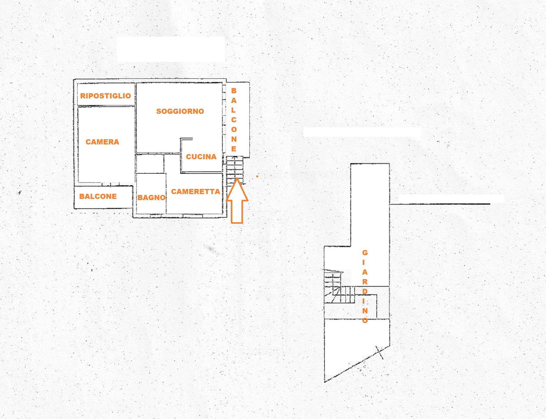 Planimetria 1/1 per rif. 410/B