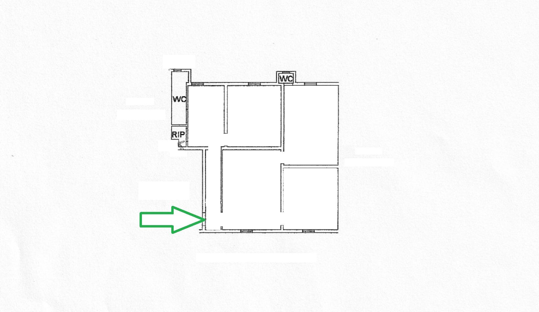 Planimetria 1/1 per rif. 625/a