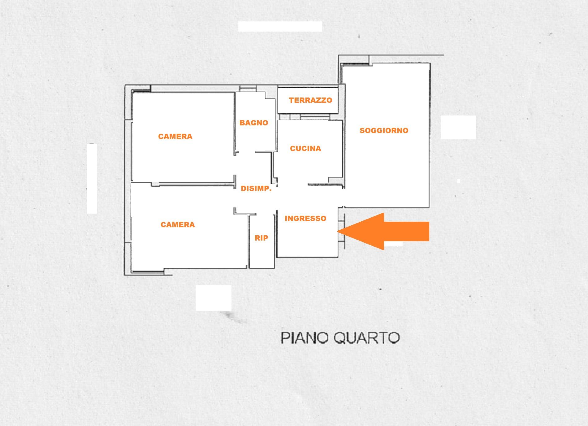 Planimetria 1/1 per rif. 626/A
