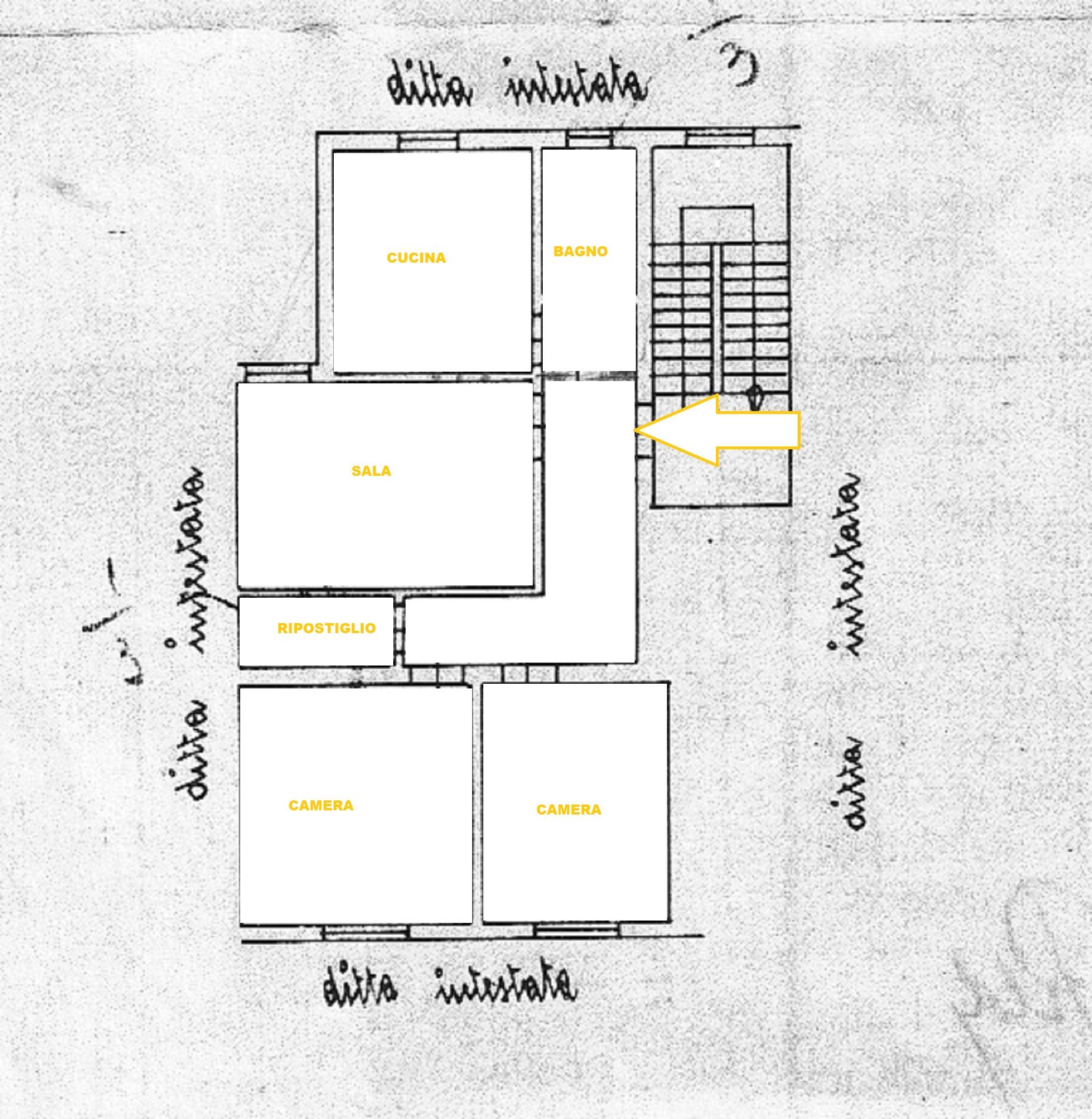 Planimetria 1/1 per rif. 372/a