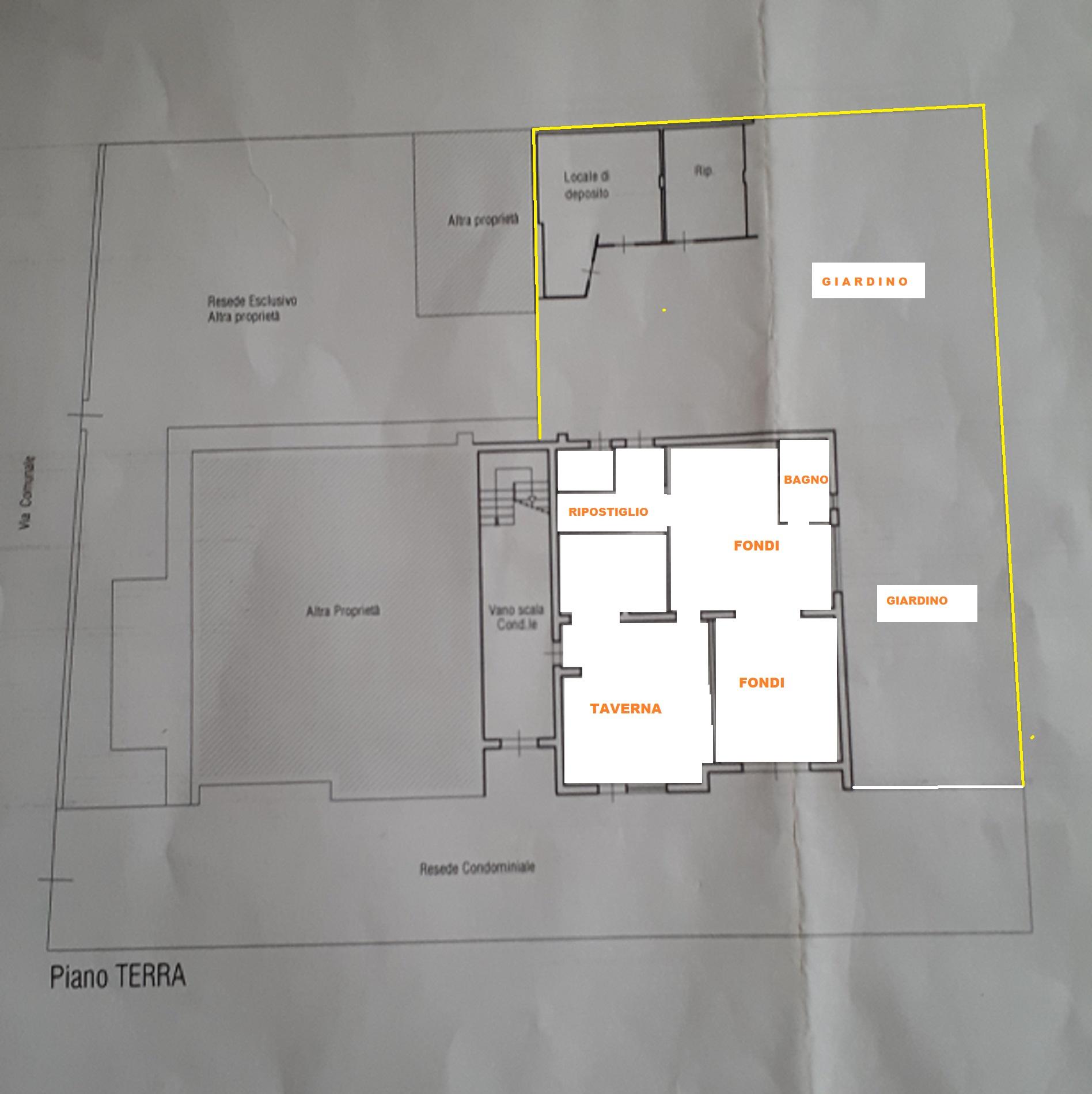 Planimetria 2/2 per rif. 412/B