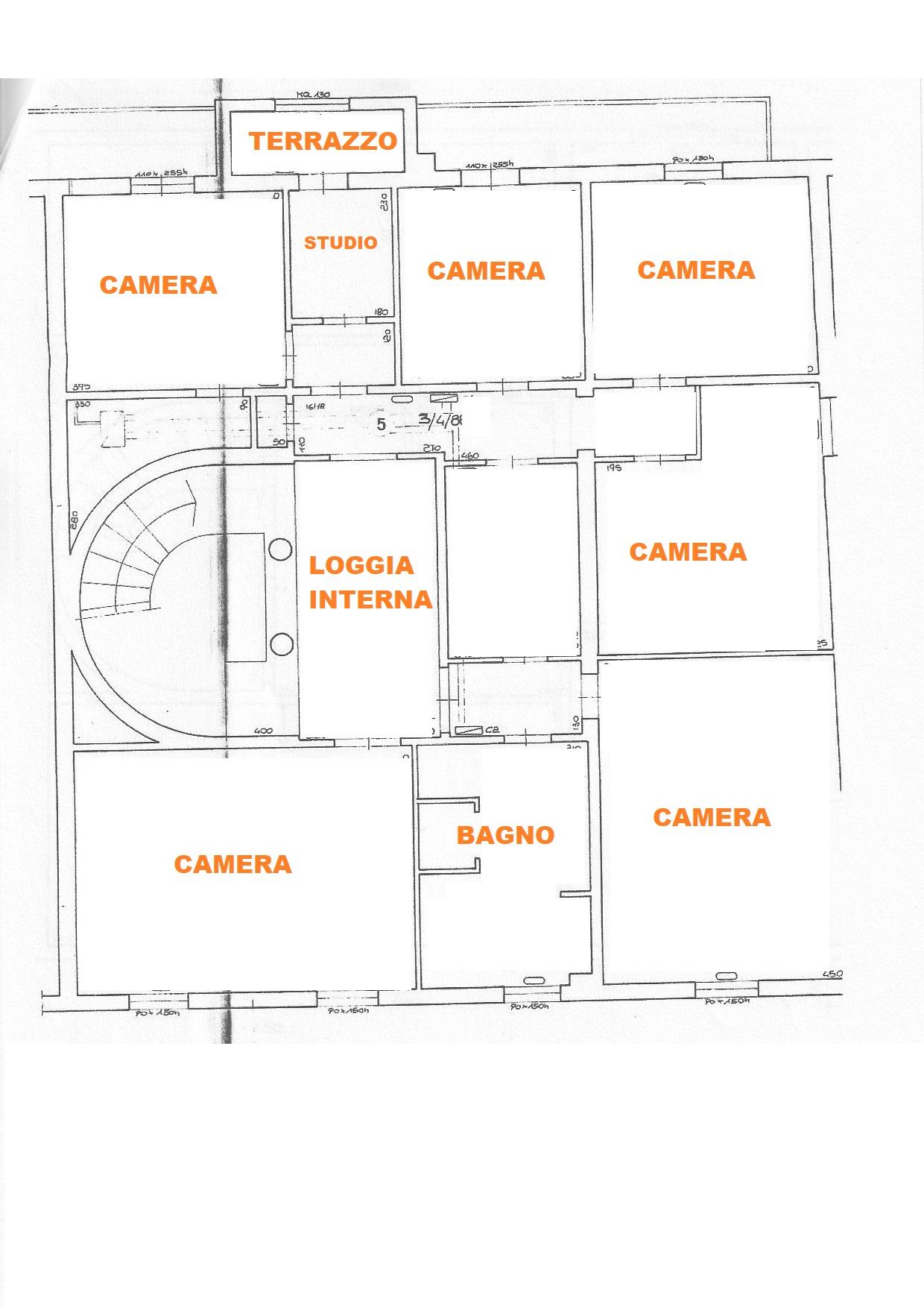 Planimetria 2/4 per rif. 627/a