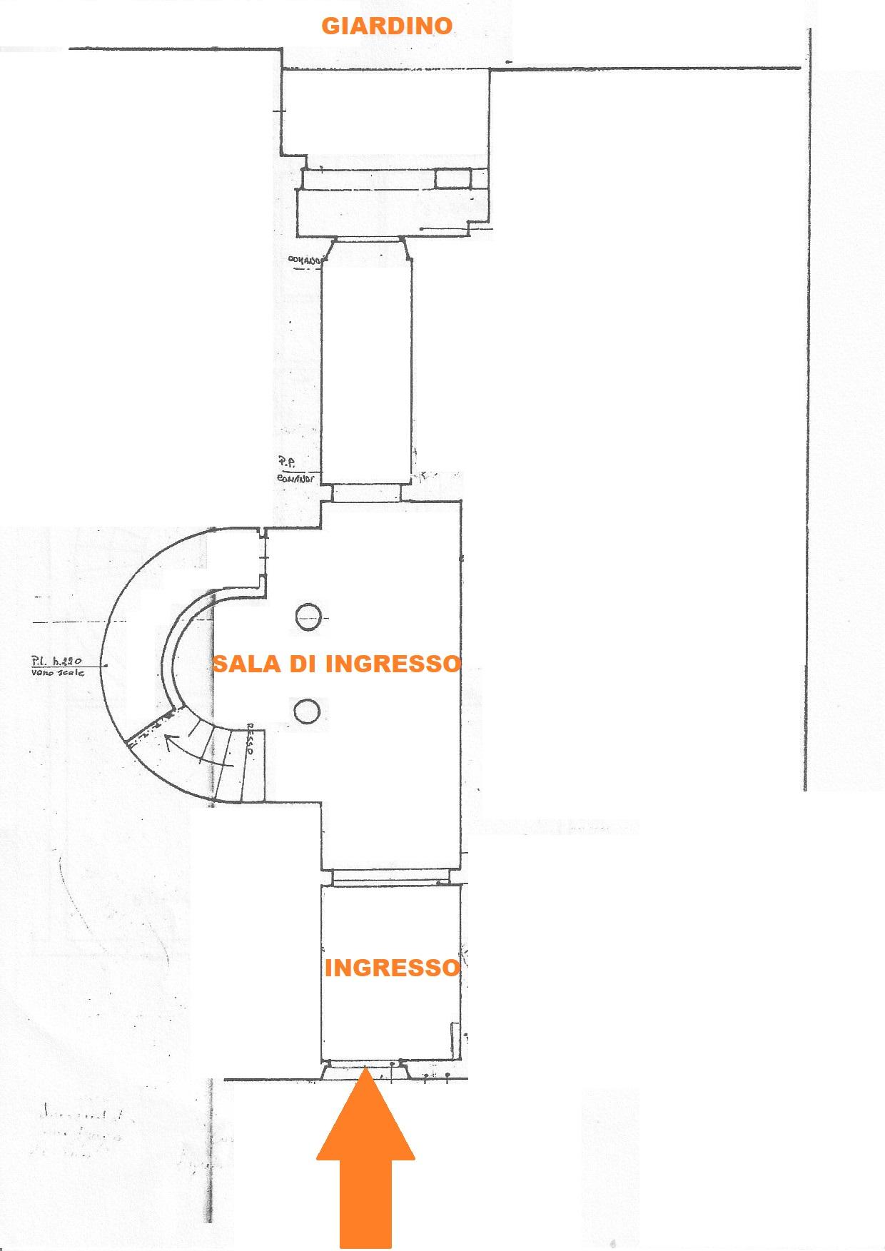 Planimetria 1/4 per rif. 627/a