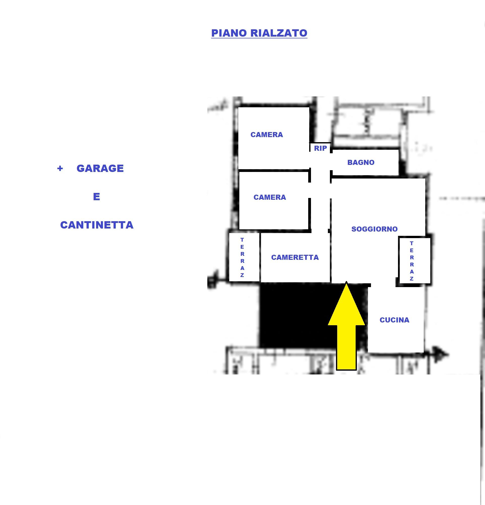 Planimetria 1/1 per rif. 413/b