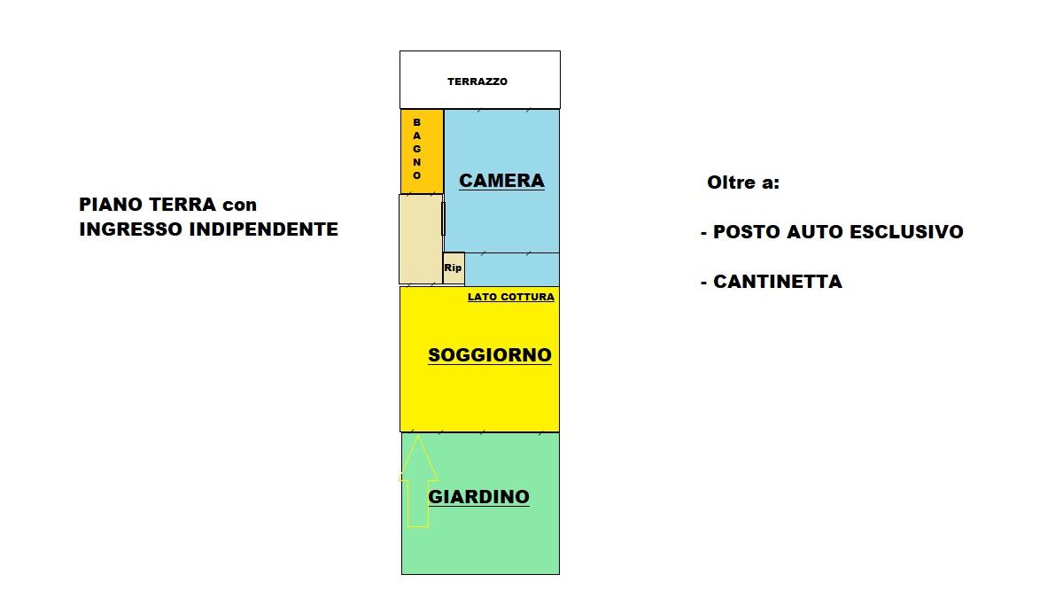 Planimetria 1/1 per rif. 414/B