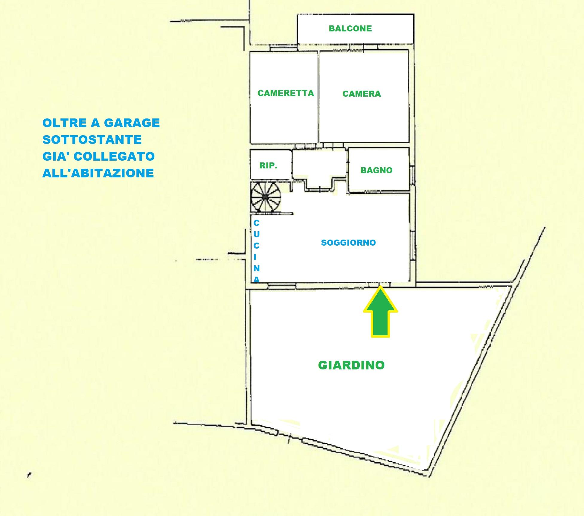 Planimetria 1/2 per rif. 416/B