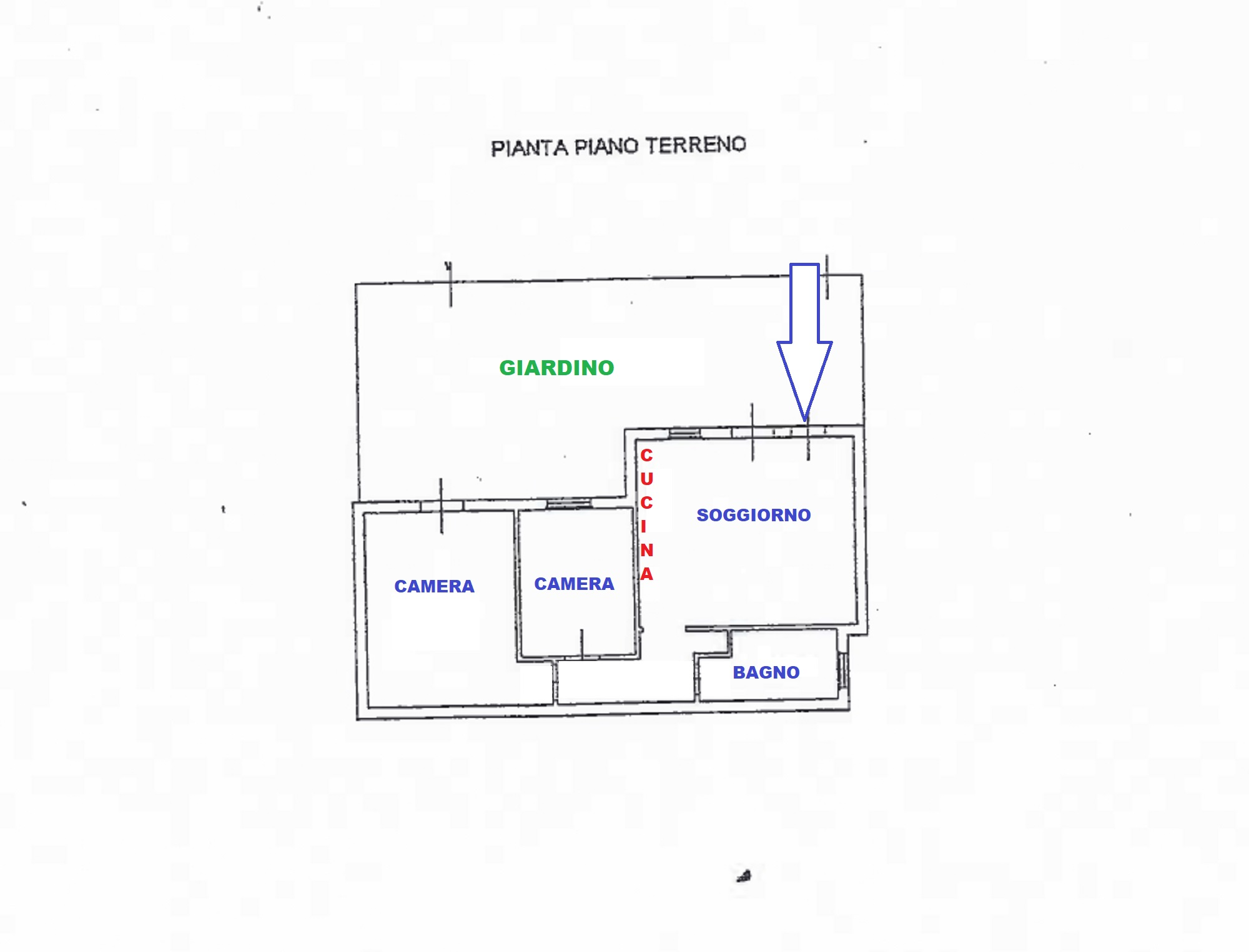 Planimetria 1/1 per rif. 630/a