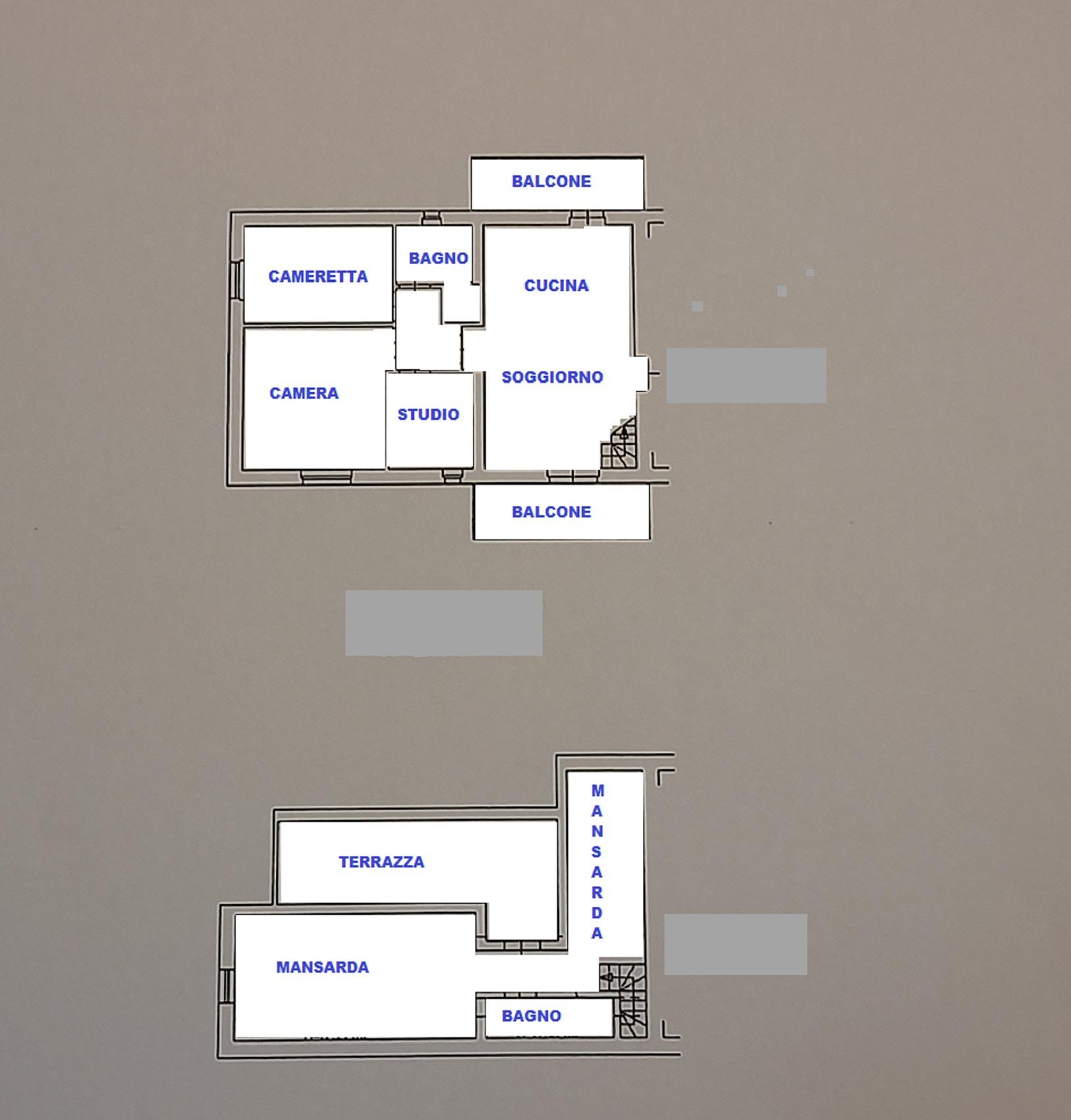 Planimetria 1/1 per rif. 419/b