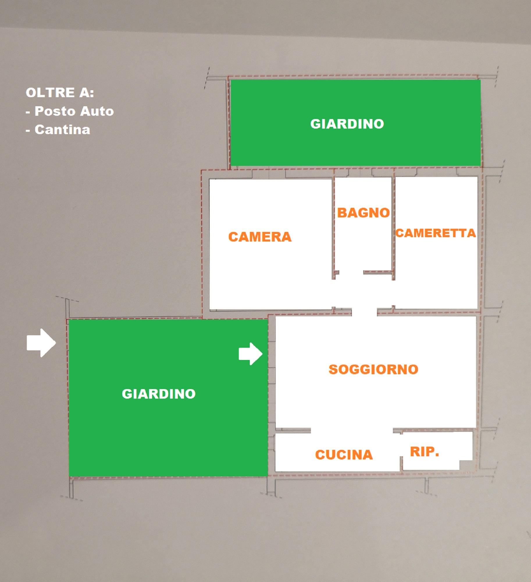 Planimetria 1/1 per rif. 418/b