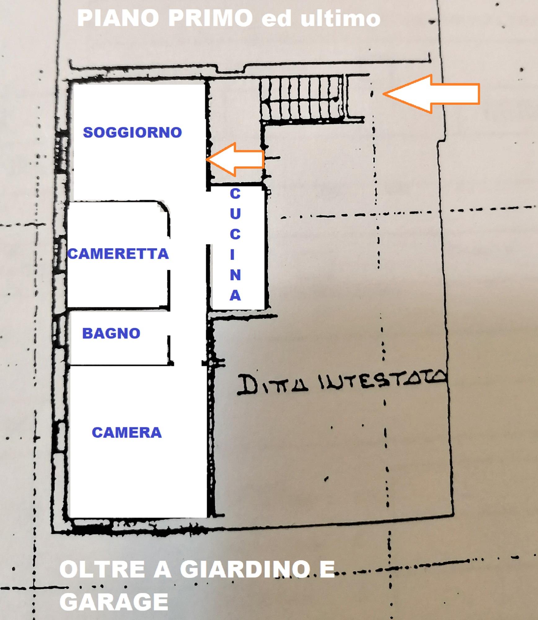 Planimetria 1/1 per rif. 420/B