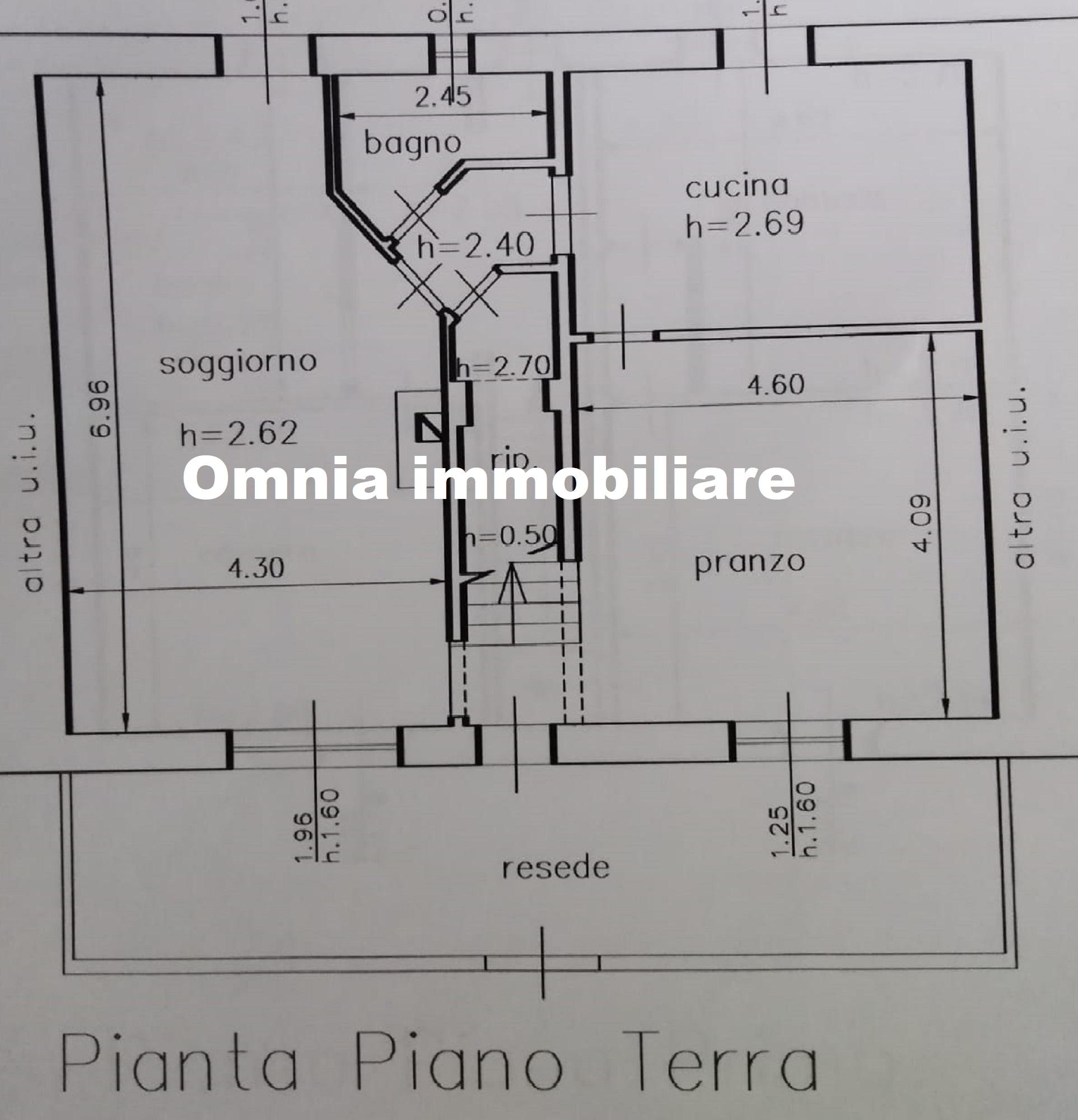 Planimetria 1/2 per rif. 423/b